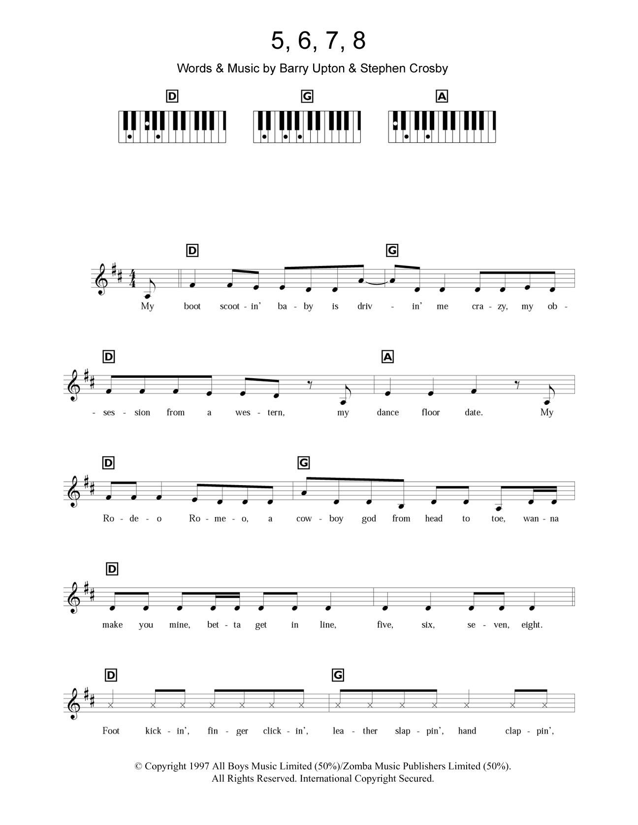 Steps: 5, 6, 7, 8