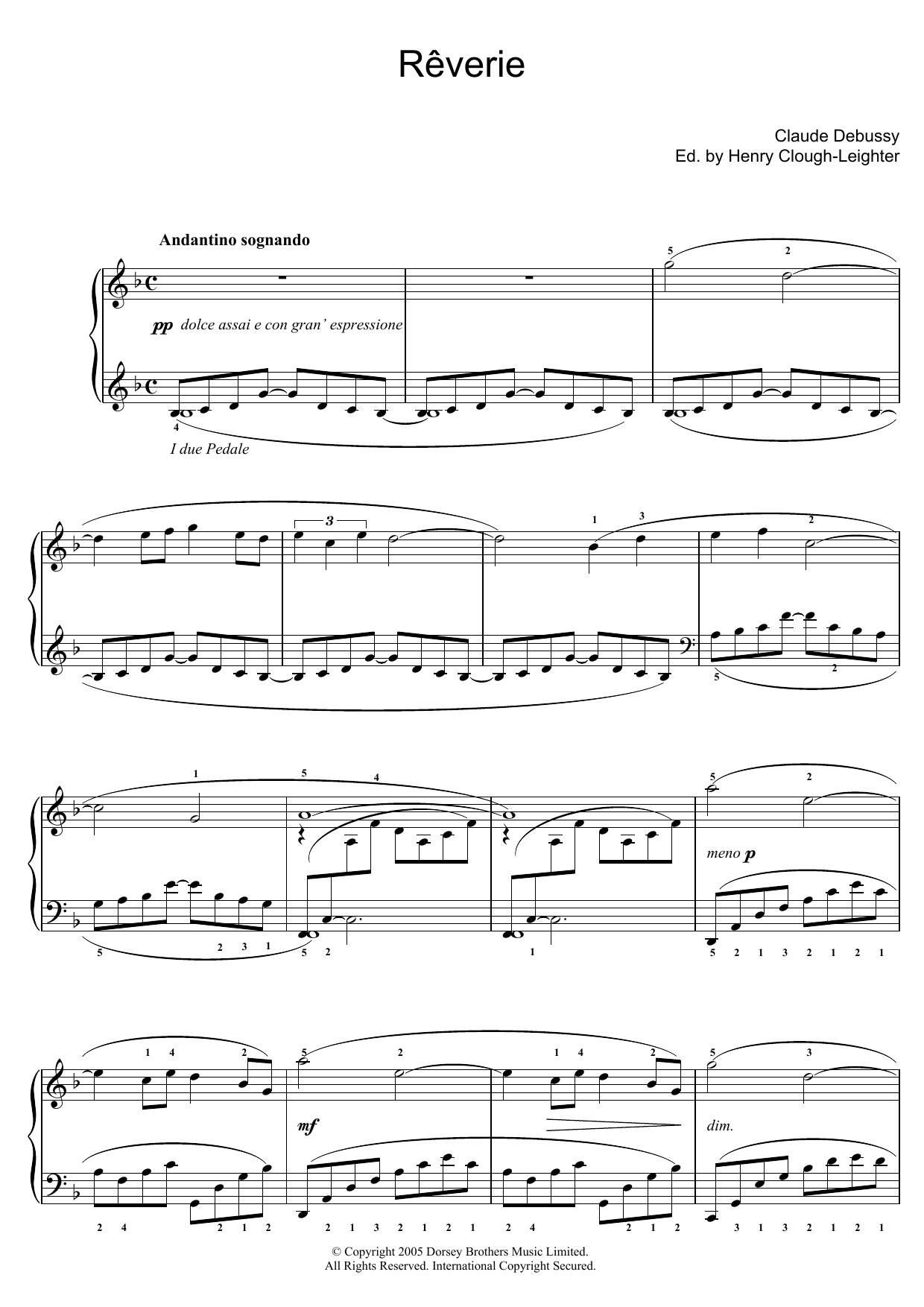 Claude Debussy - Reverie