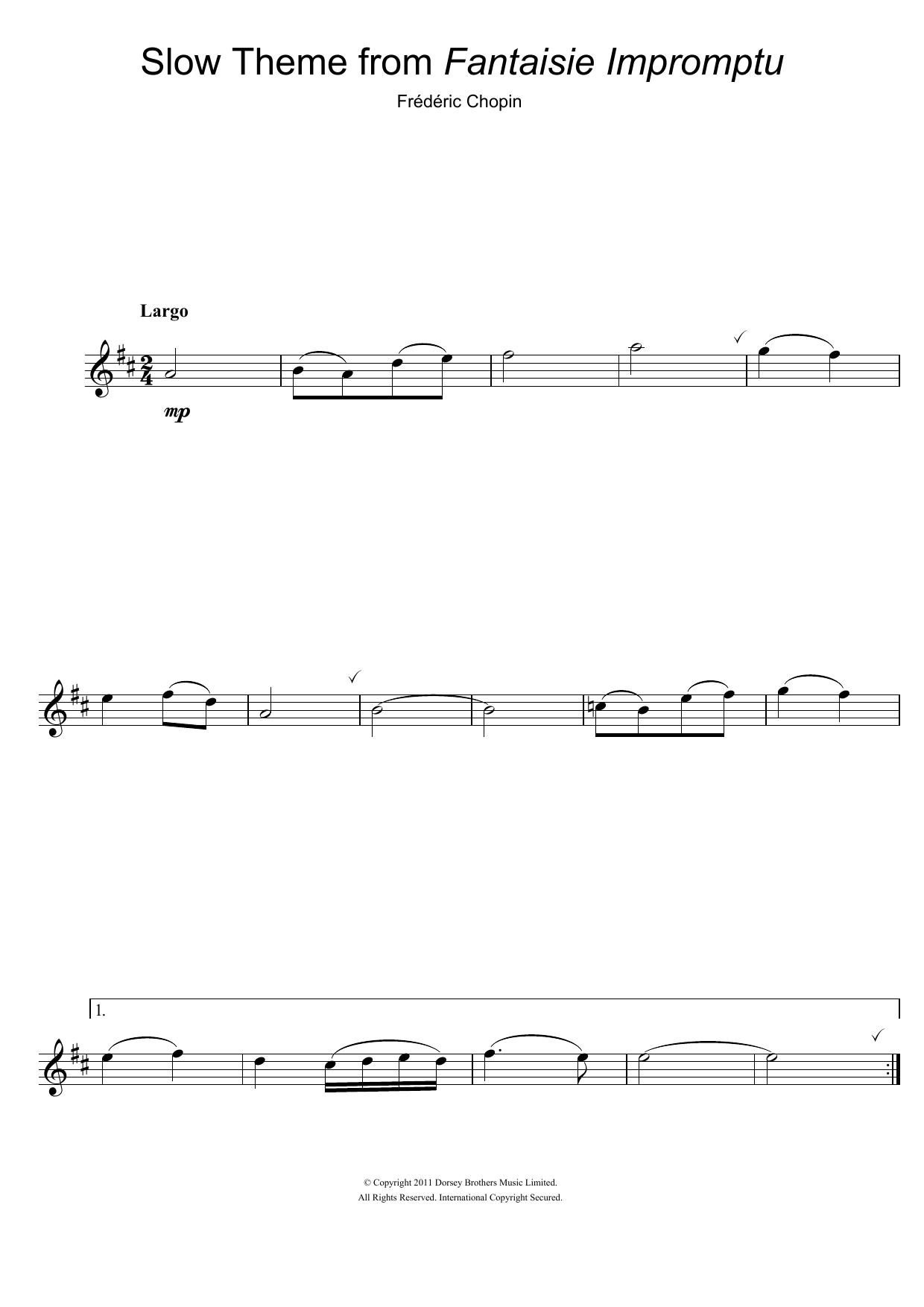 Frederic Chopin - Fantaisie Impromptu