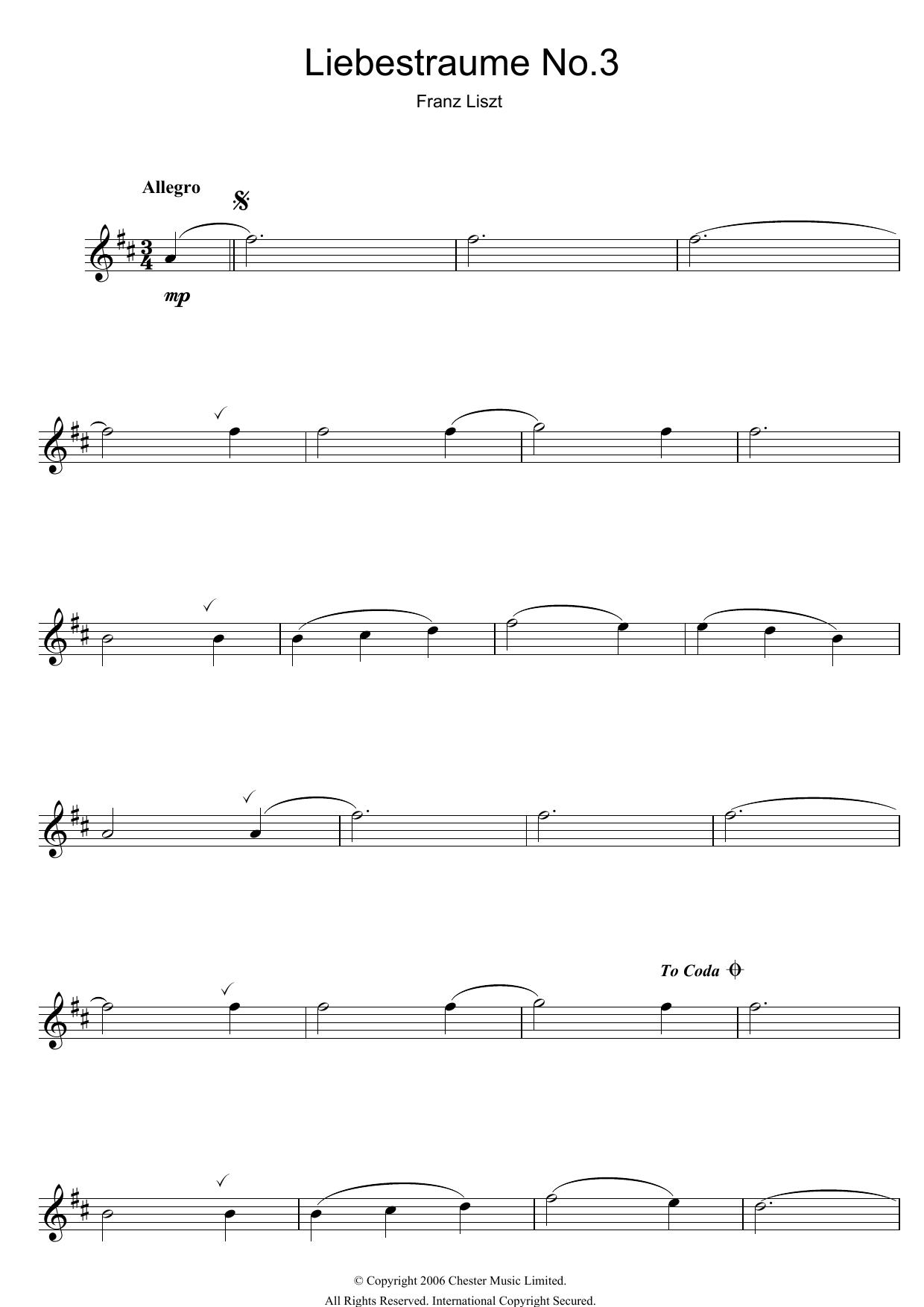 Franz Liszt - Liebestraume: Notturno No.3 In A Flat: O Lieb, So Lang Du Lieben...