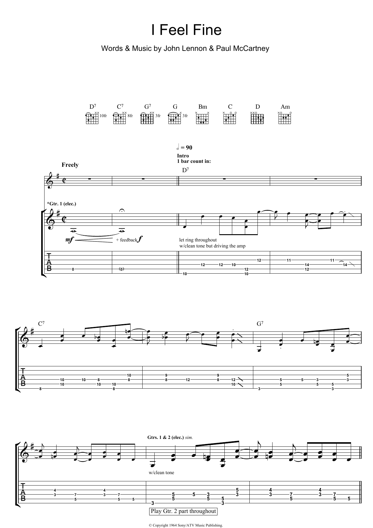 The Beatles: I Feel Fine