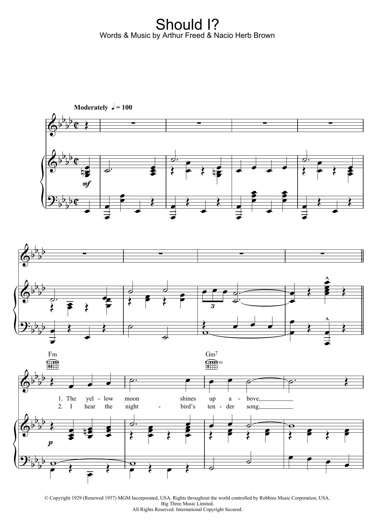 Frank Sinatra - Should I