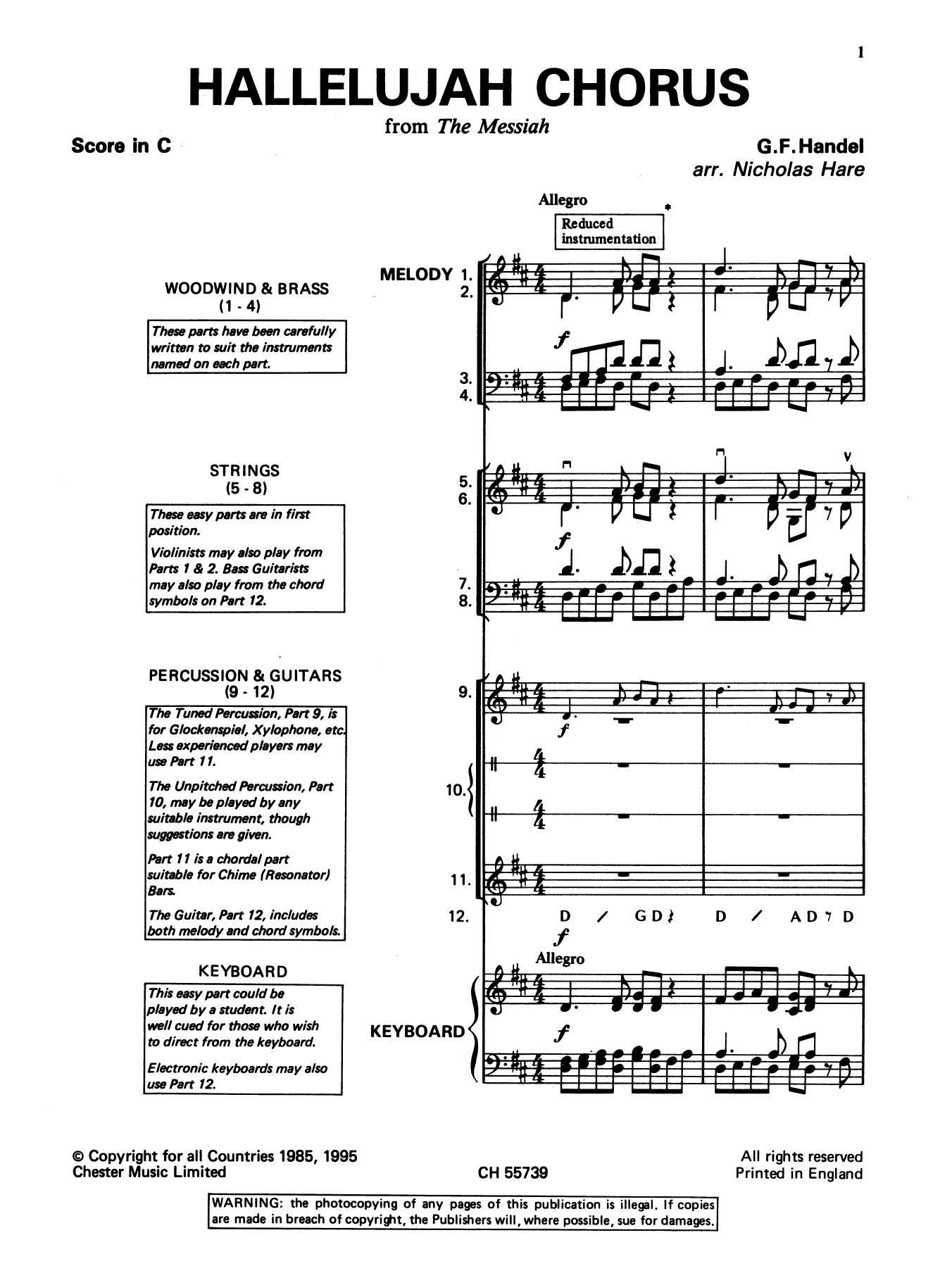 George Frideric Handel: Hallelujah Chorus (from The Messiah)