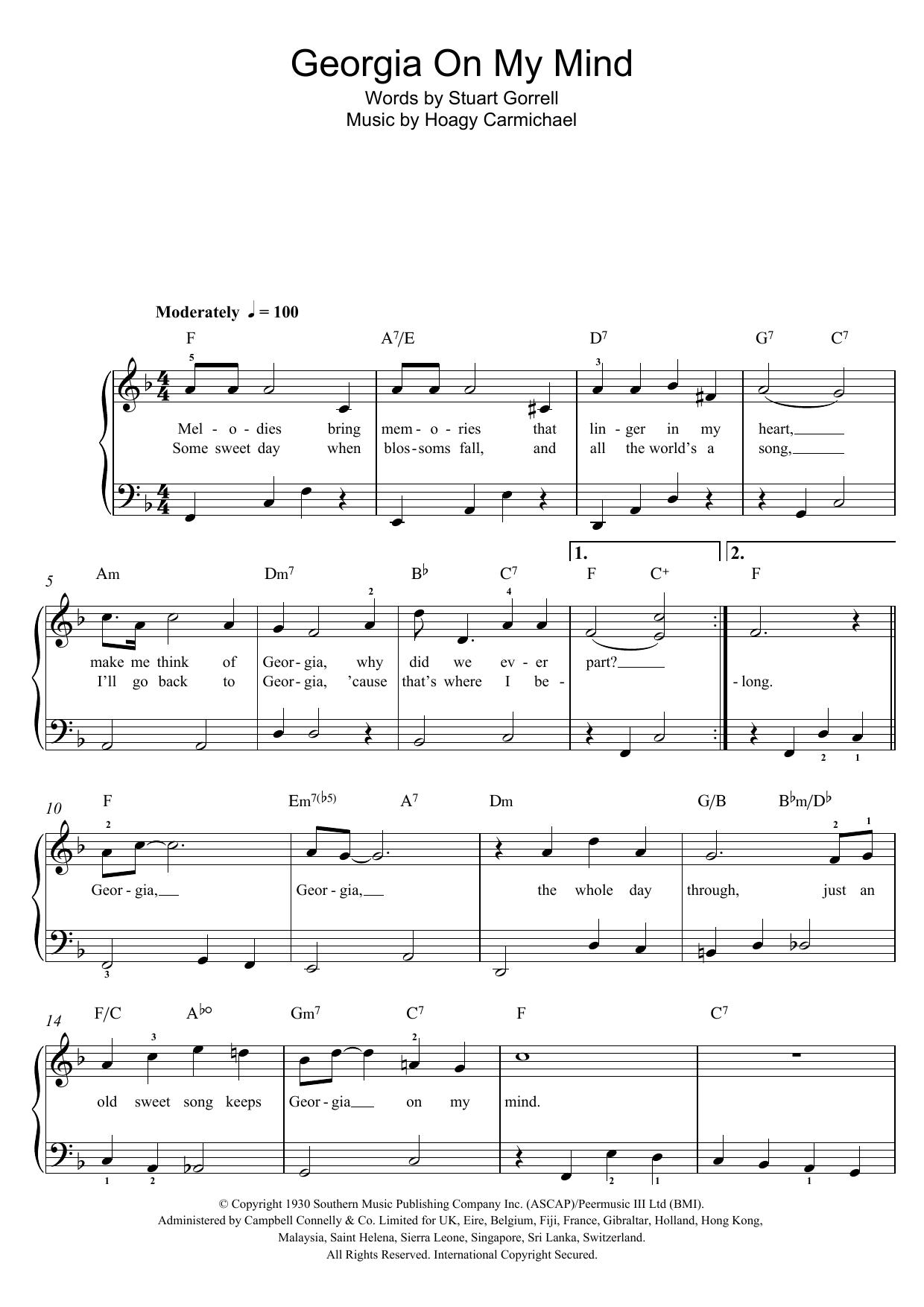 Sheet Music Digital Files To Print Licensed Ray Charles Digital