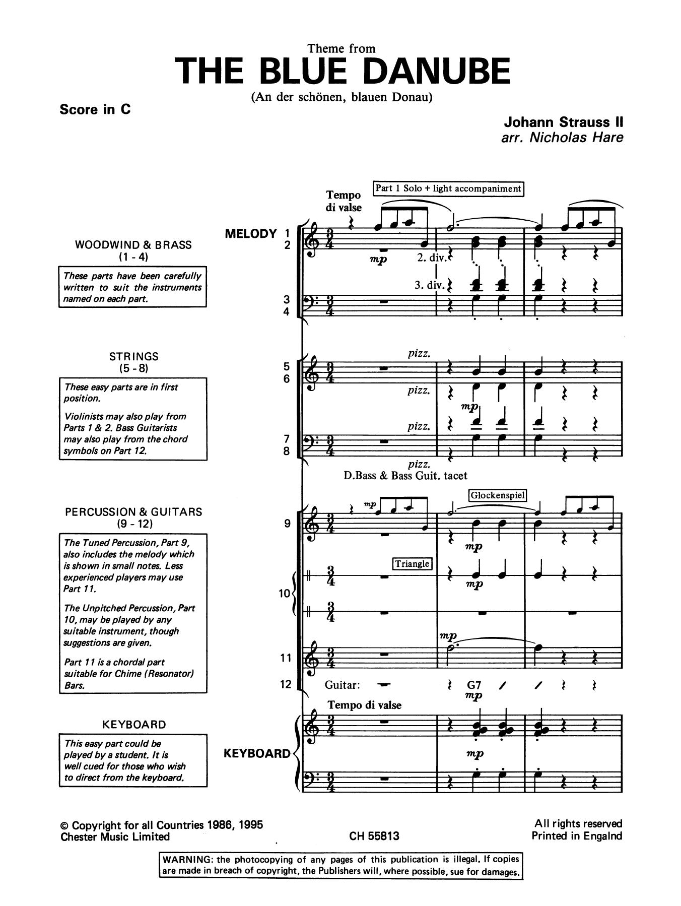 Johann Strauss II: (On The Beautiful) The Blue Danube