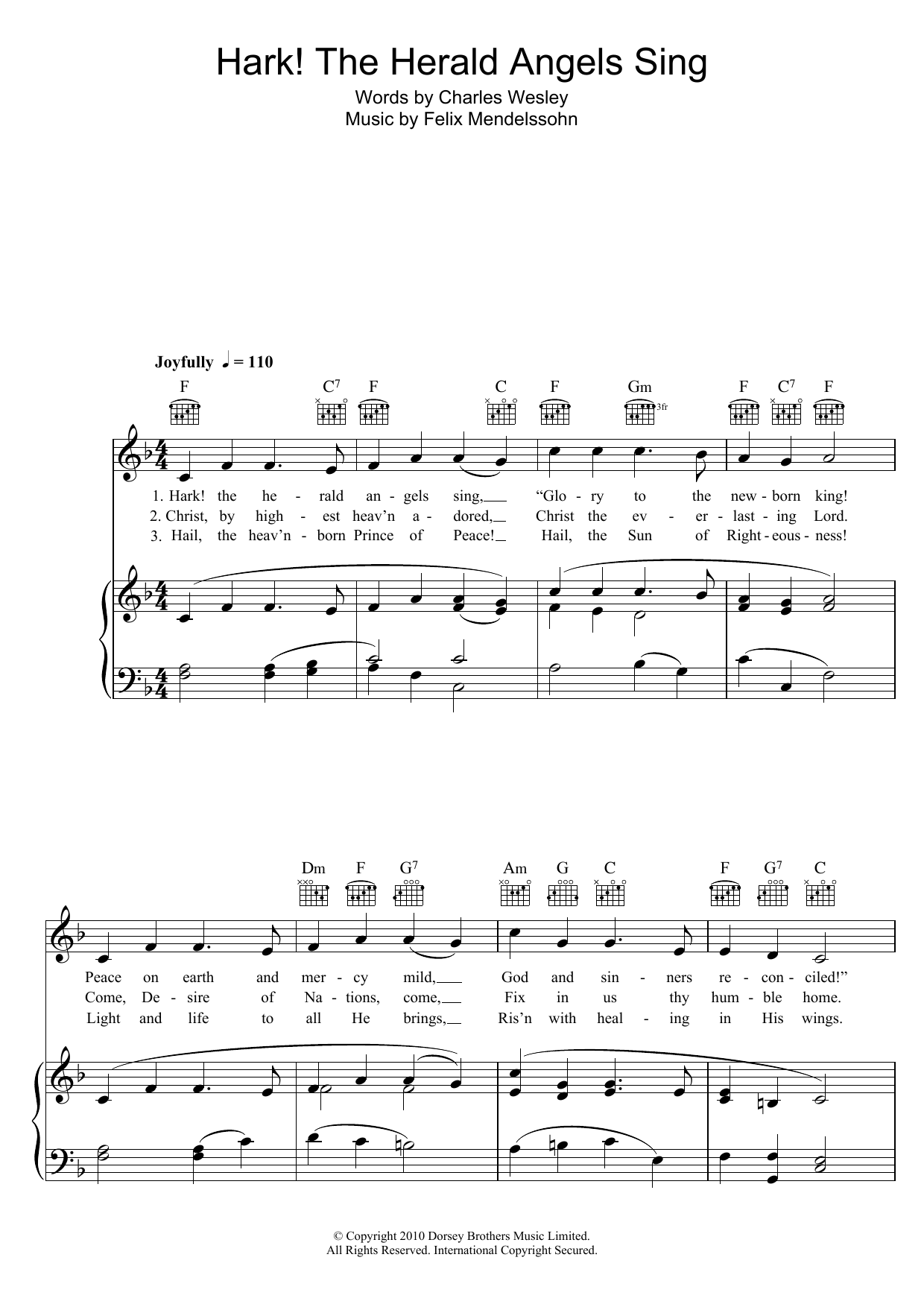 Sheet Music Digital Files To Print Licensed Charles Wesley Digital