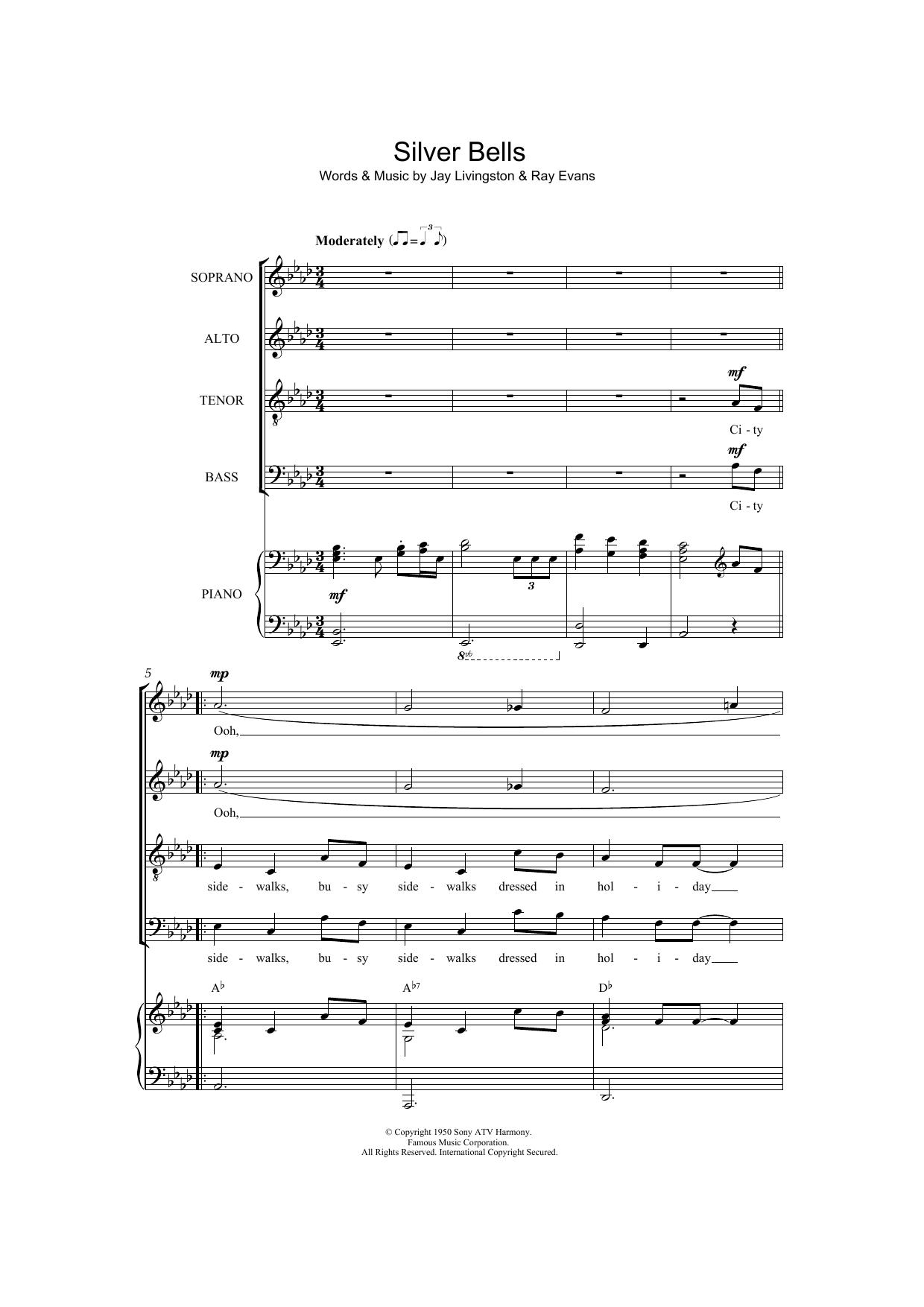 Jay Livingston - Silver Bells