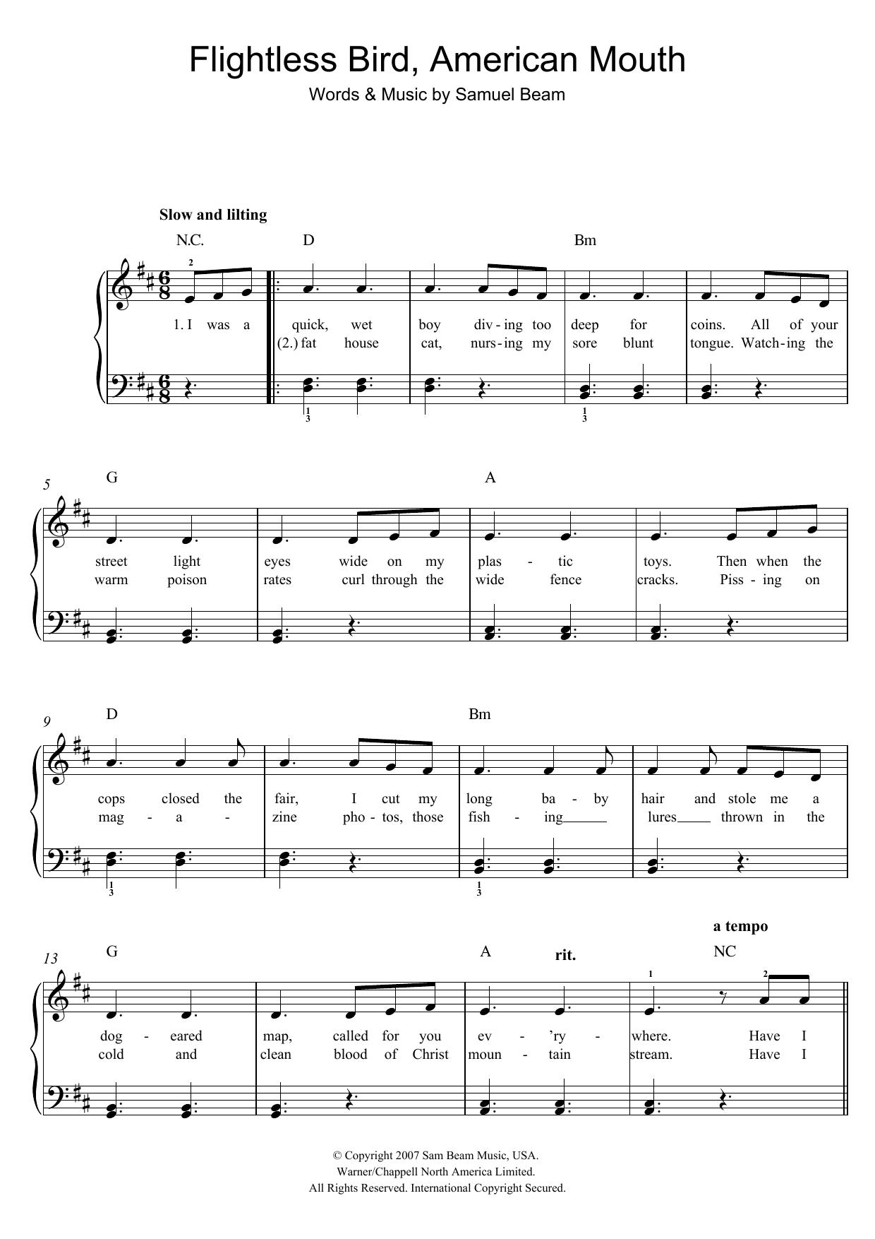 Sheet Music Digital Files To Print Licensed Samuel Beam Digital