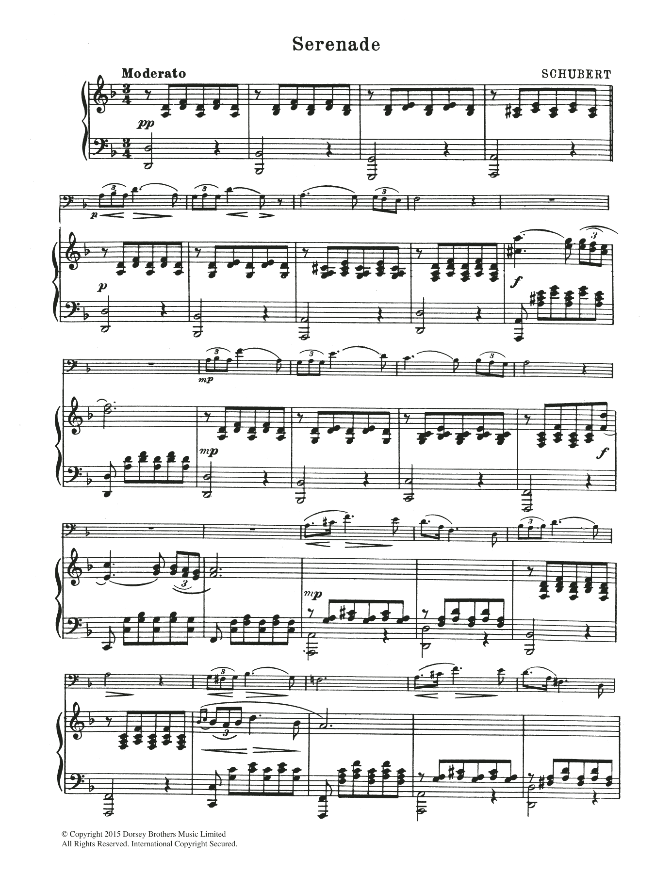 Franz Schubert: Serenade
