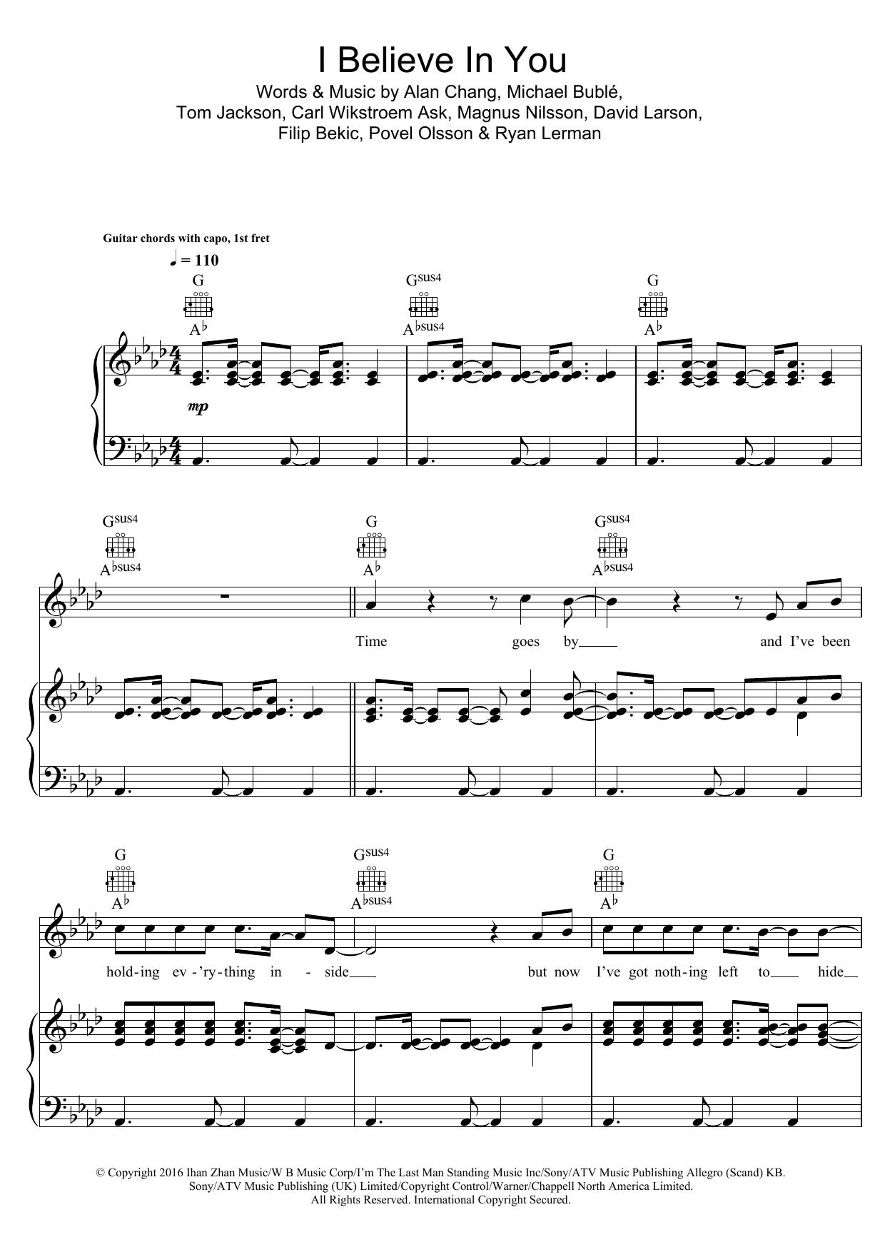 Sheet Music Digital Files To Print Licensed Michael Buble Digital