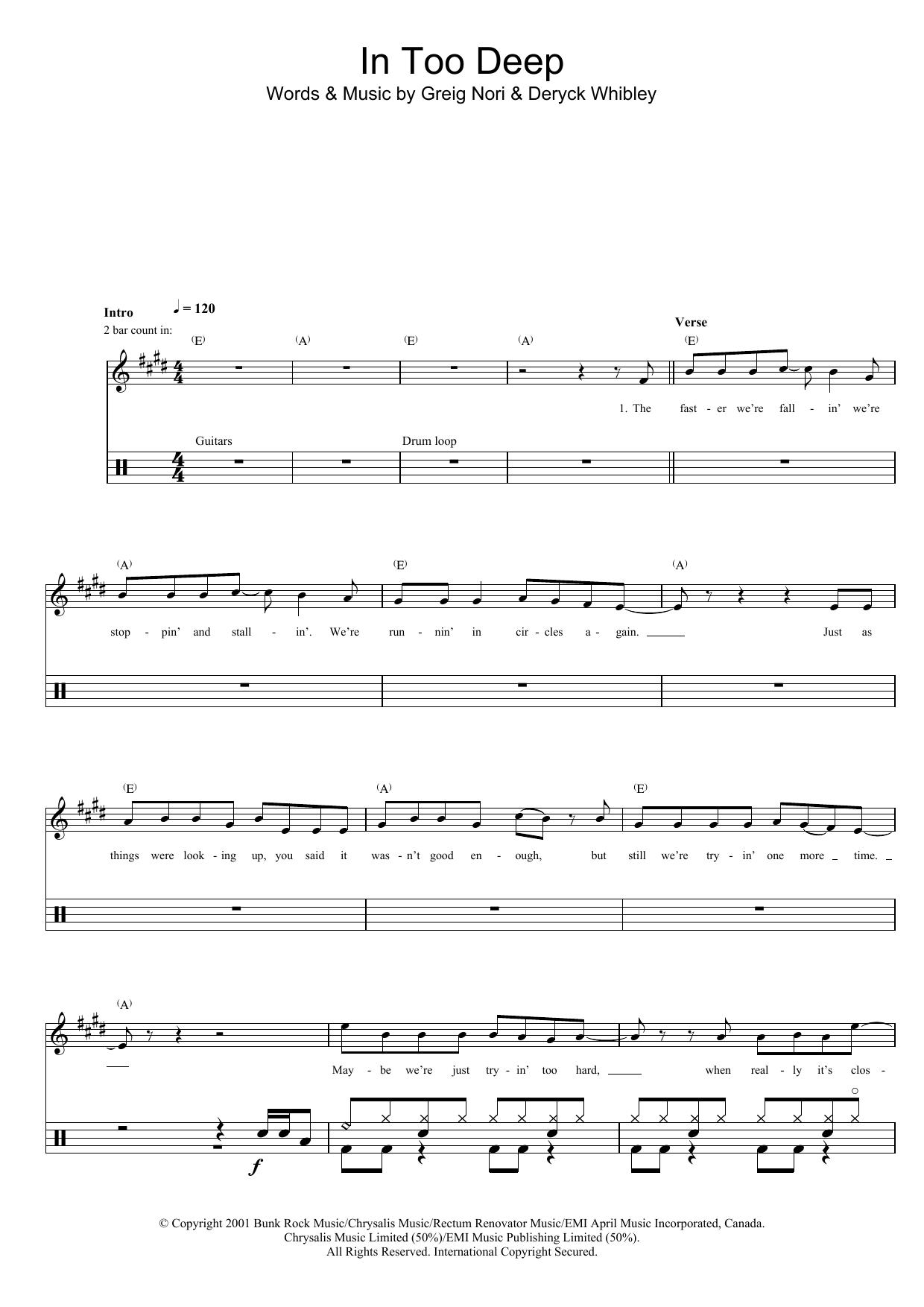 Sum 41: In Too Deep
