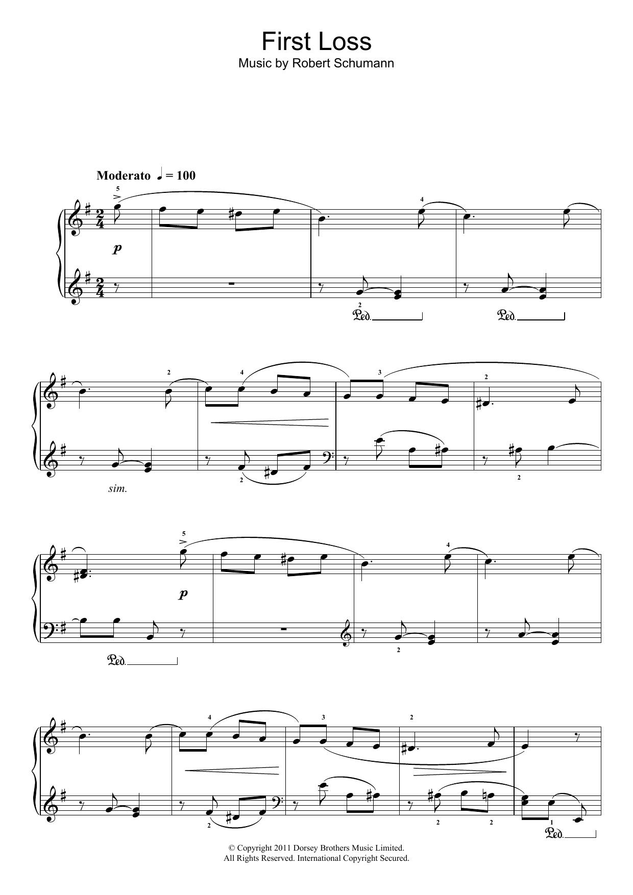 Robert Schumann - First Loss