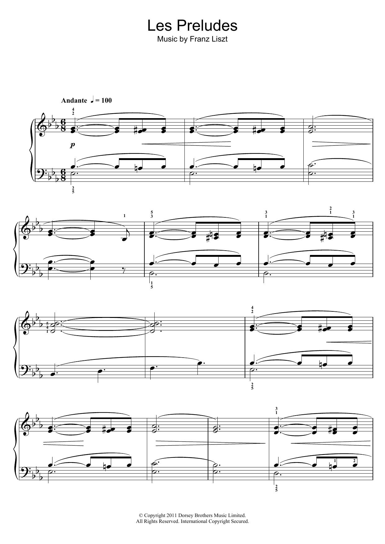 Franz Liszt - Les Preludes