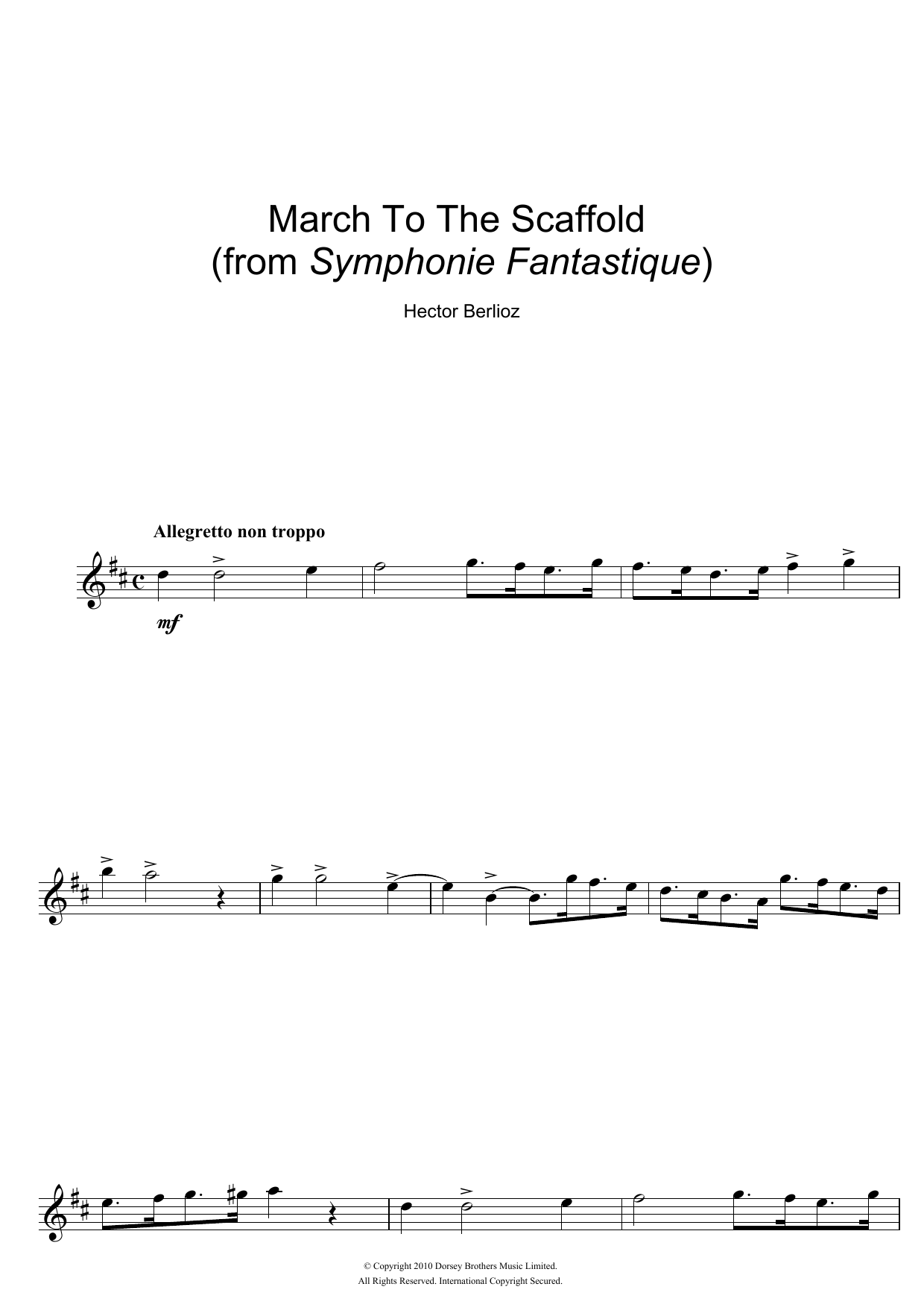 Hector Berlioz - Symphonie Fantastique (4th Movement: March To The Scaffold)