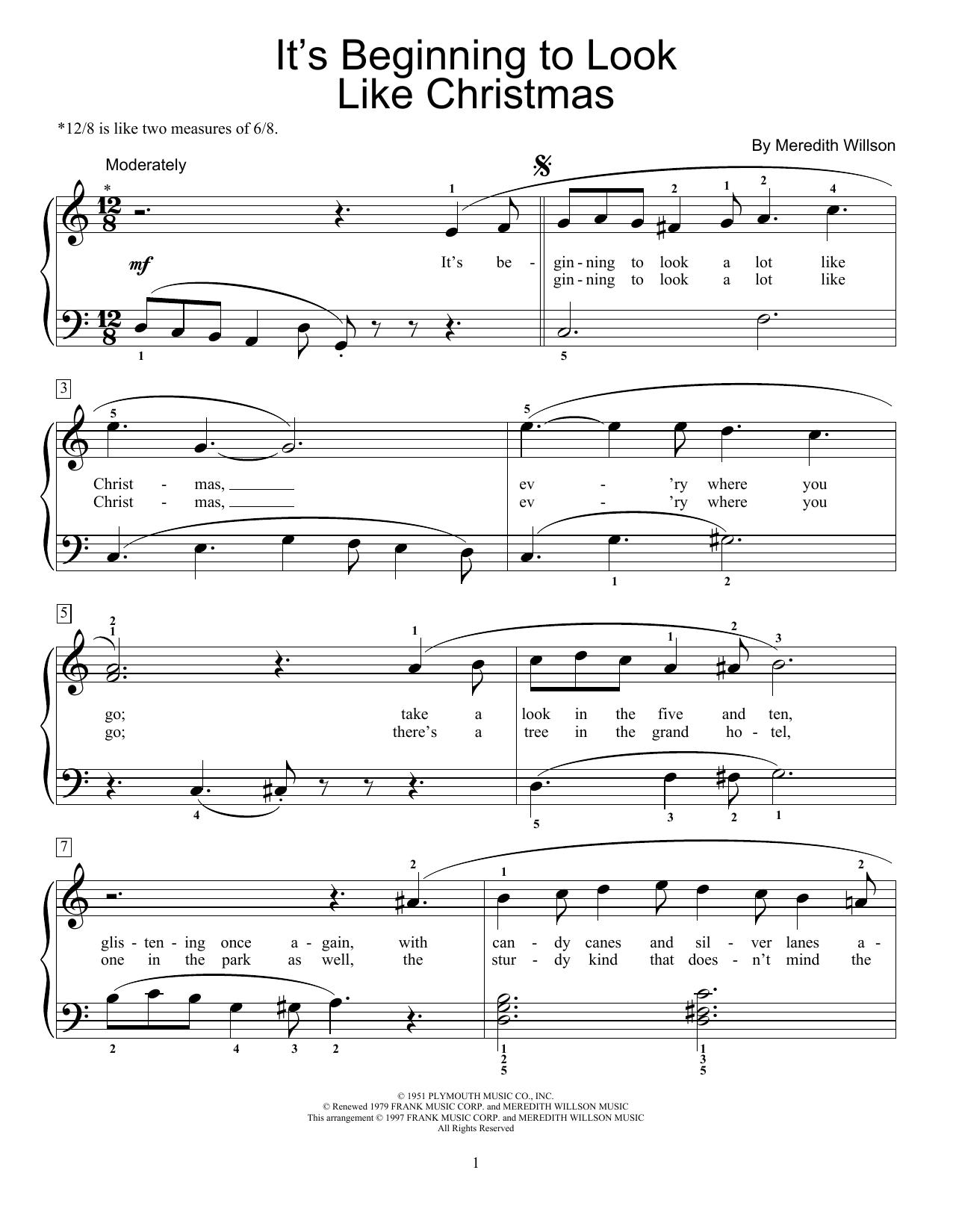 intermediate christmas piano sheet music pdf