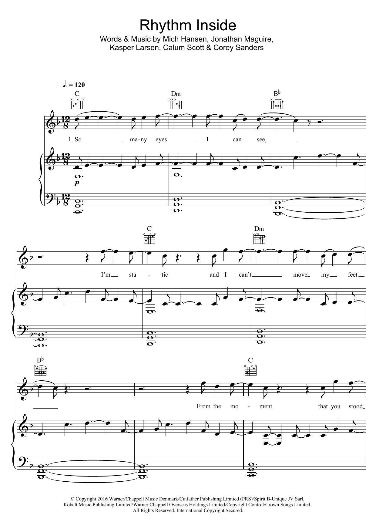Calum Scott - Rhythm Inside