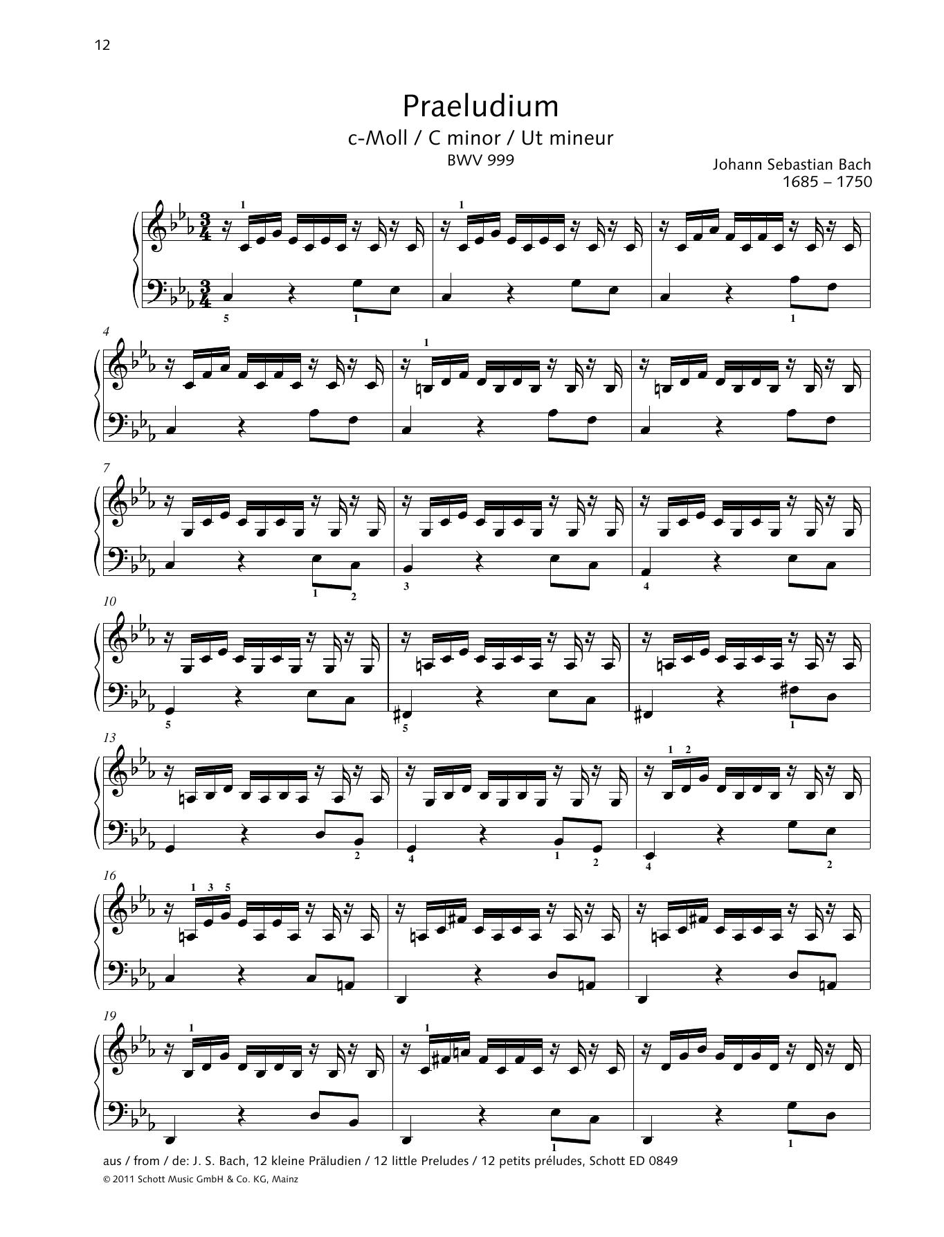 Prelude C minor