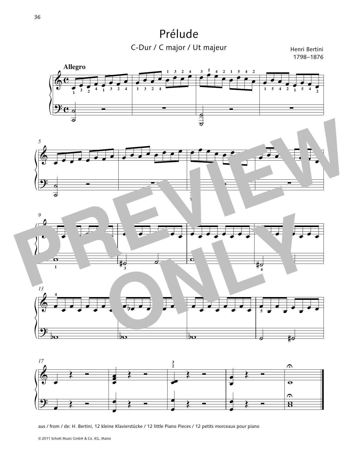 Prélude C major