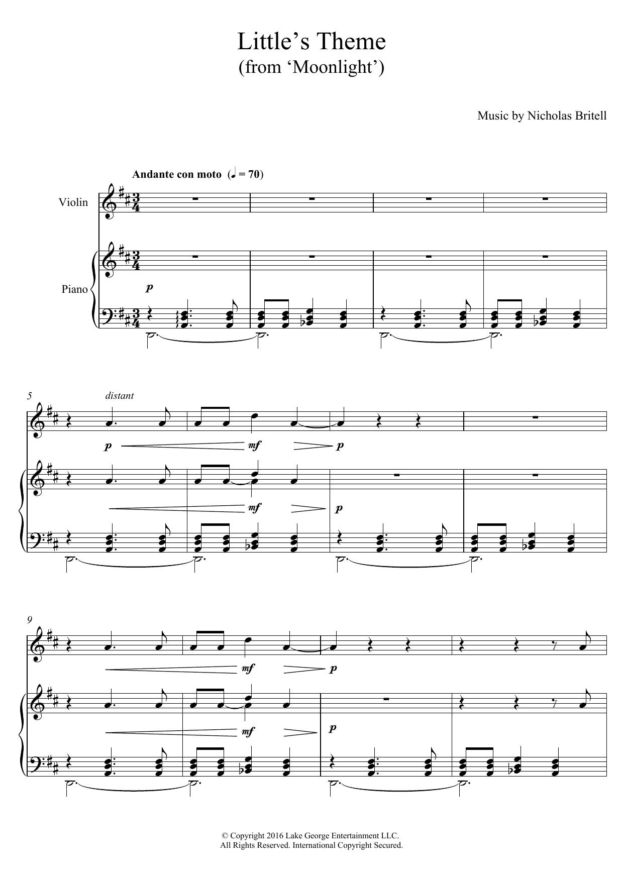 Nicholas Britell: Little's Theme (From Moonlight)