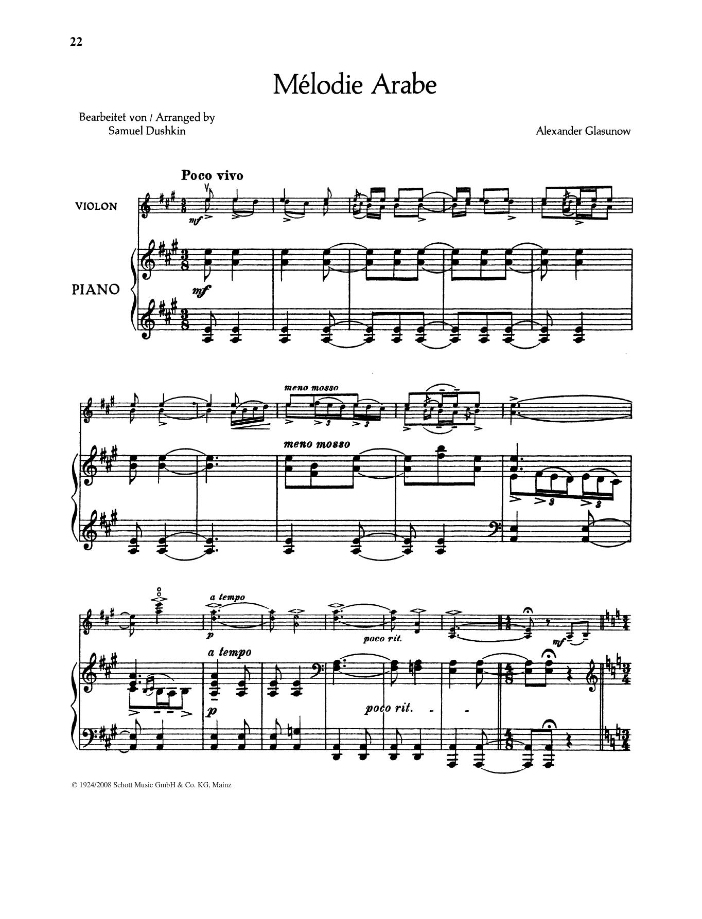 Melodie Arabe