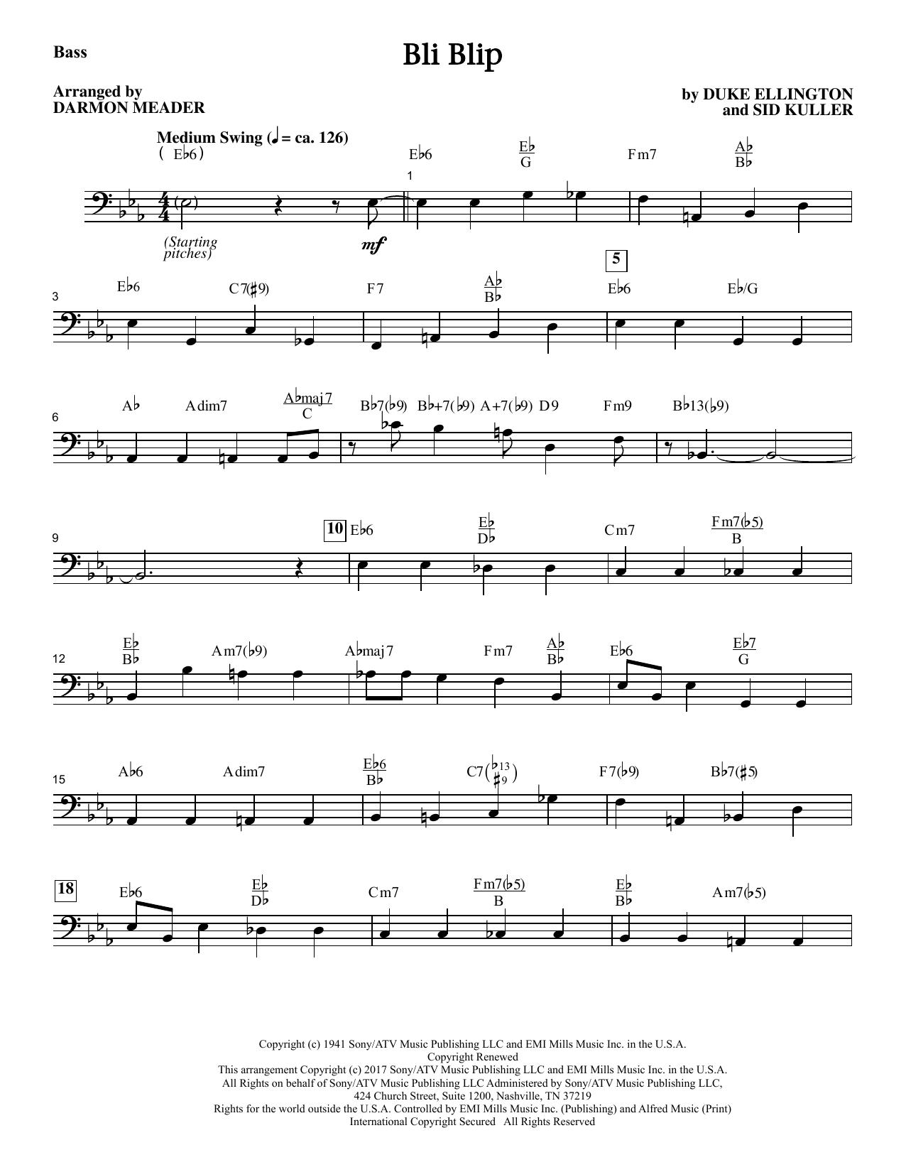 Duke Ellington - Bli-blip - Bass