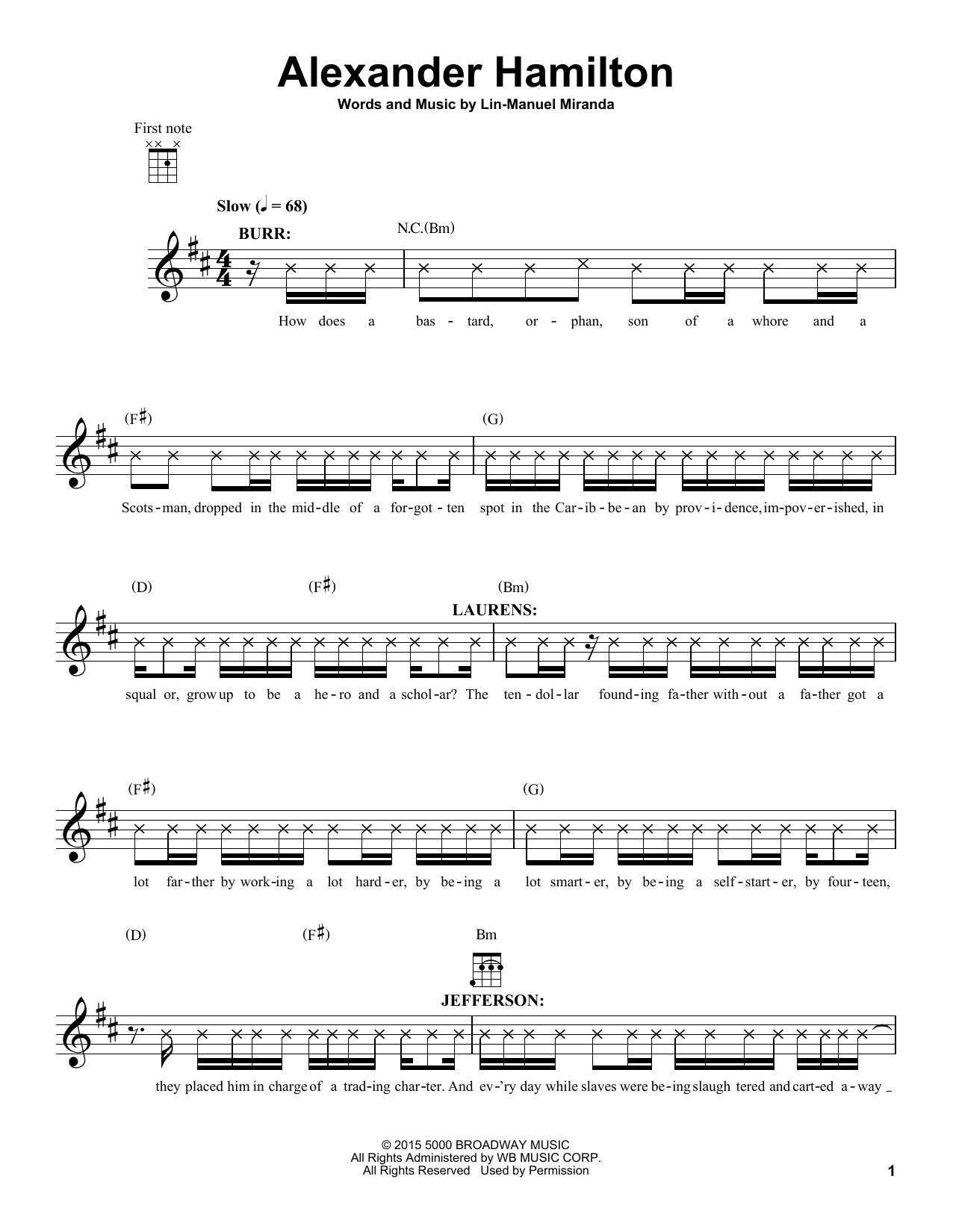 mary poppins returns a cover is not the book chords