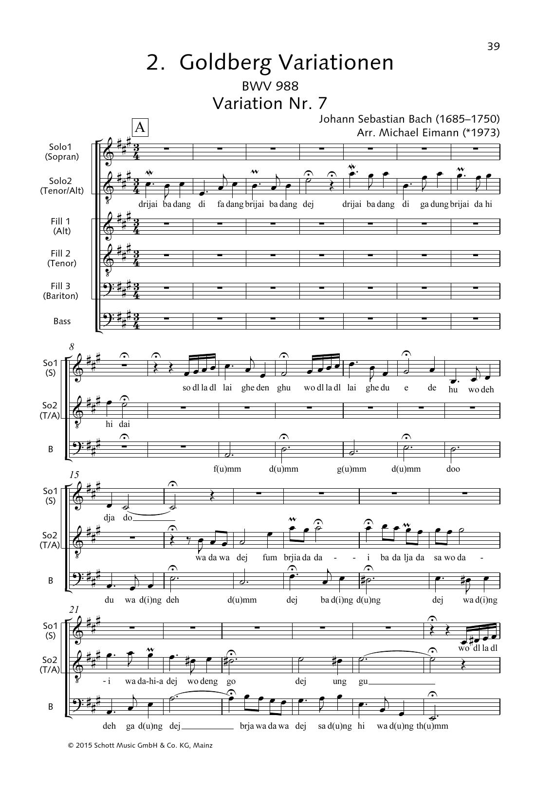 Goldberg Variations, Variation No. 7