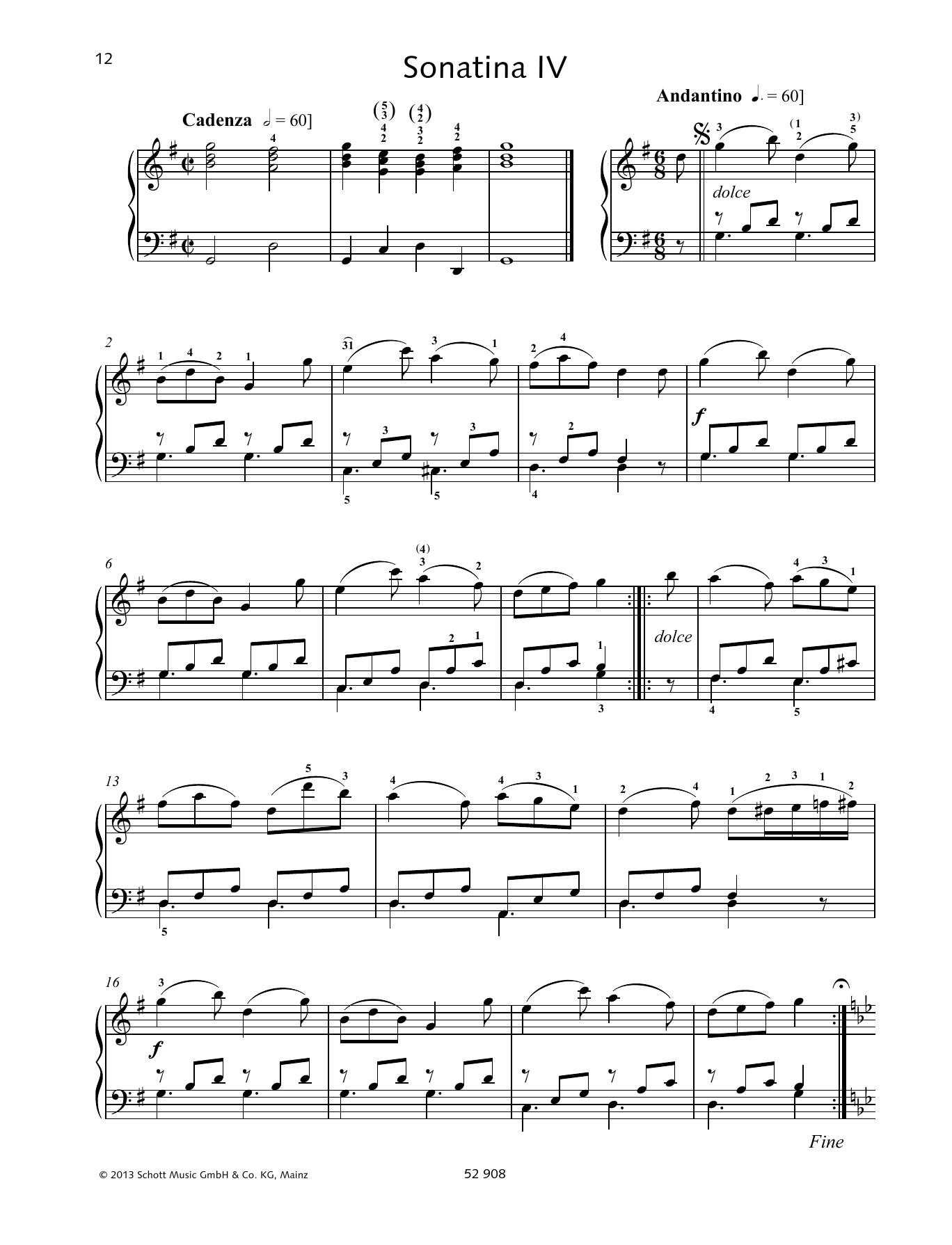 Sonatina IV