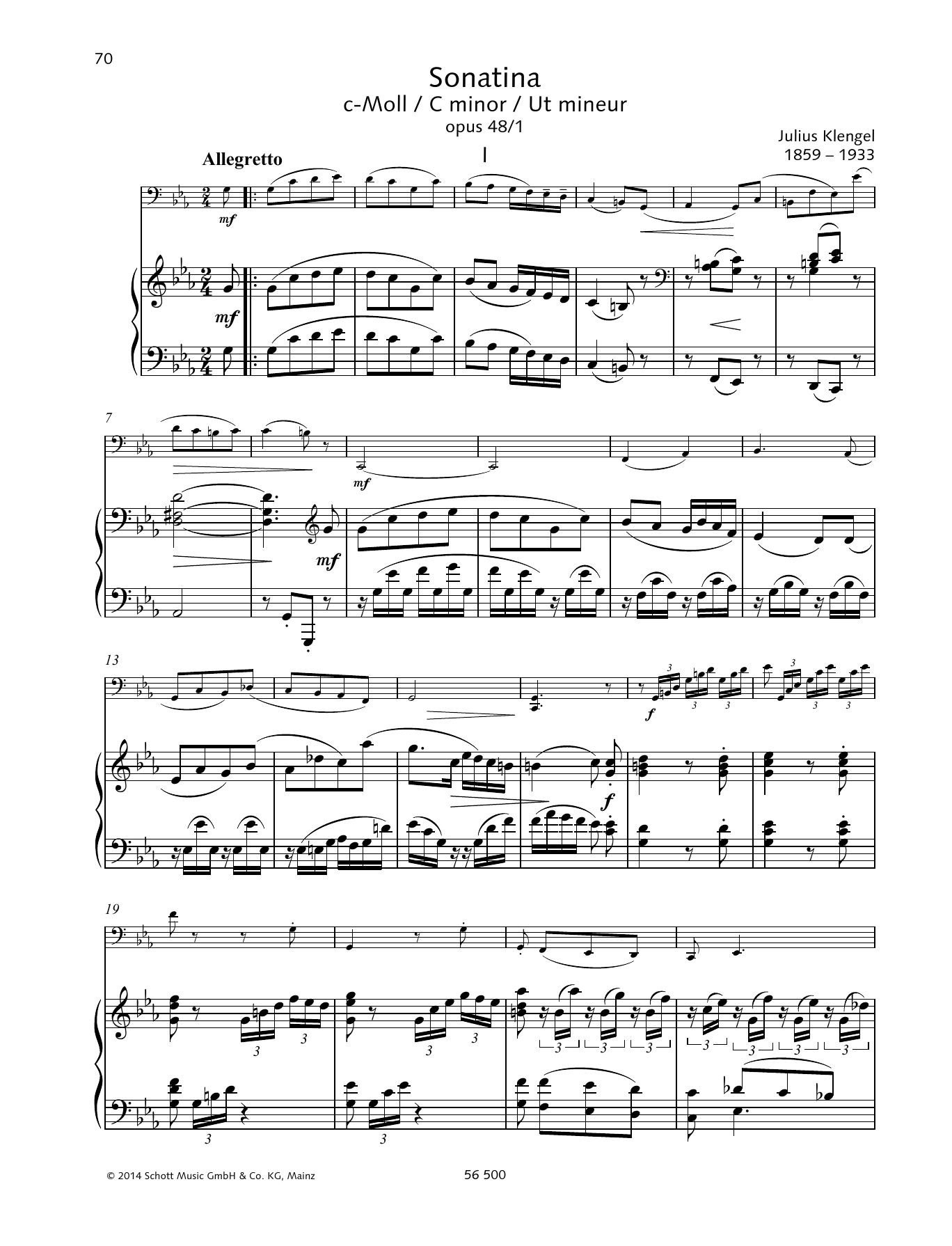 Sonatina C minor