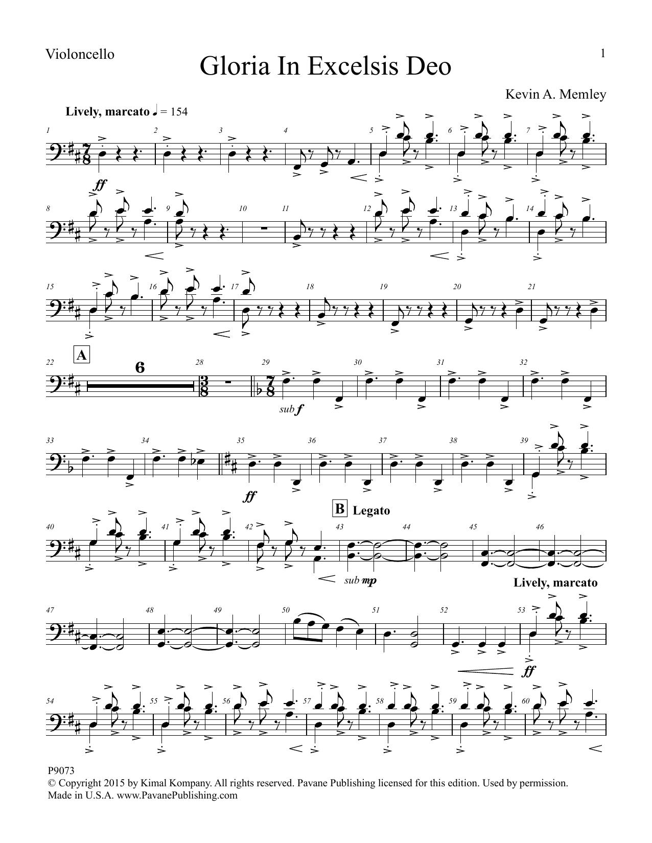 Gloria in Excelsis Deo - Viola