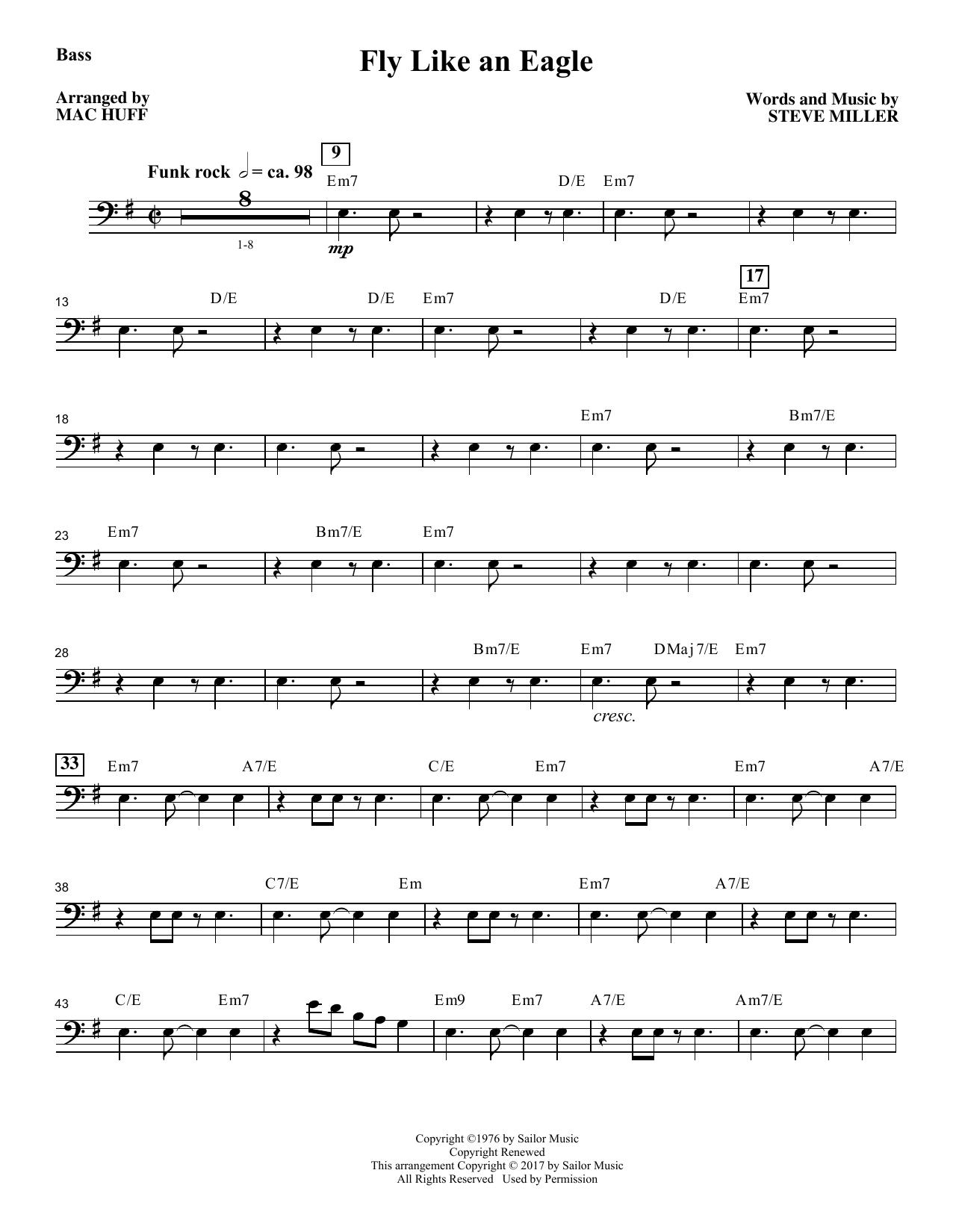 Steve Miller Band - Fly Like an Eagle - Bass