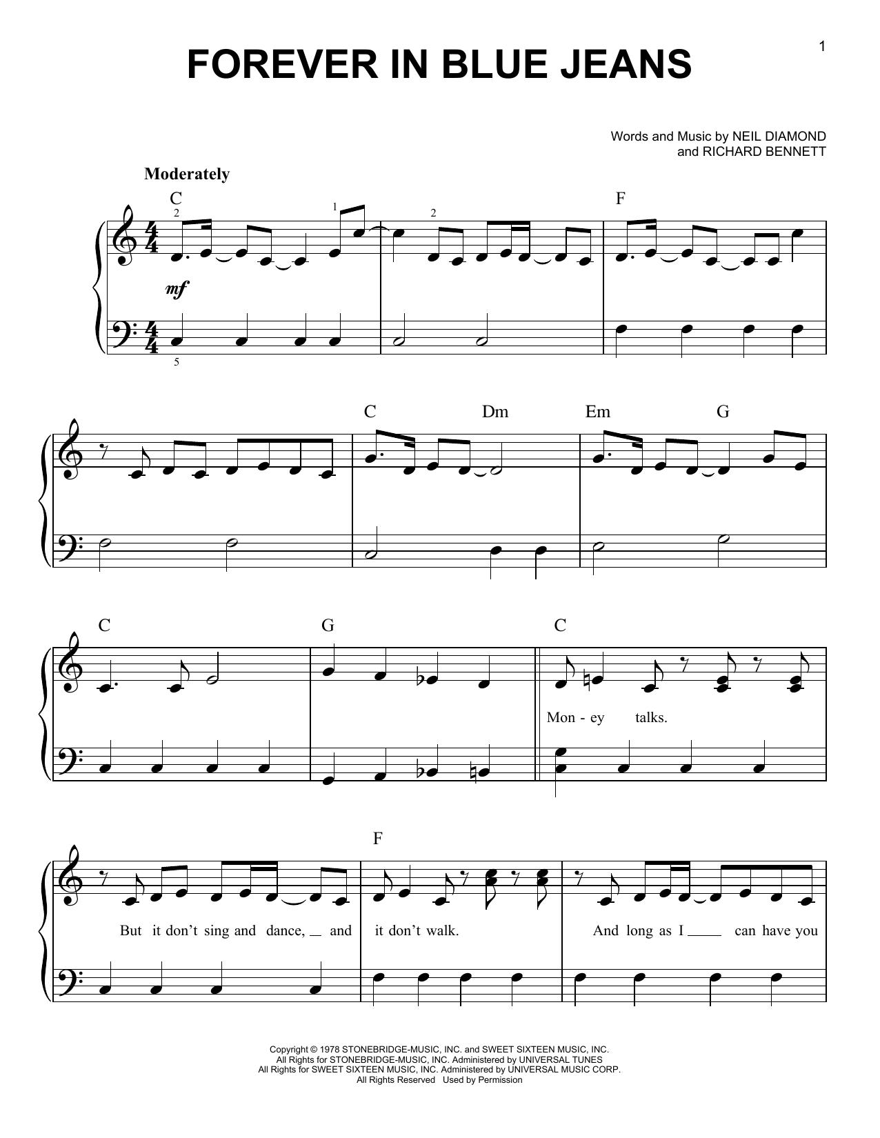 Sheet Music Digital Files To Print Licensed Richard Bennett
