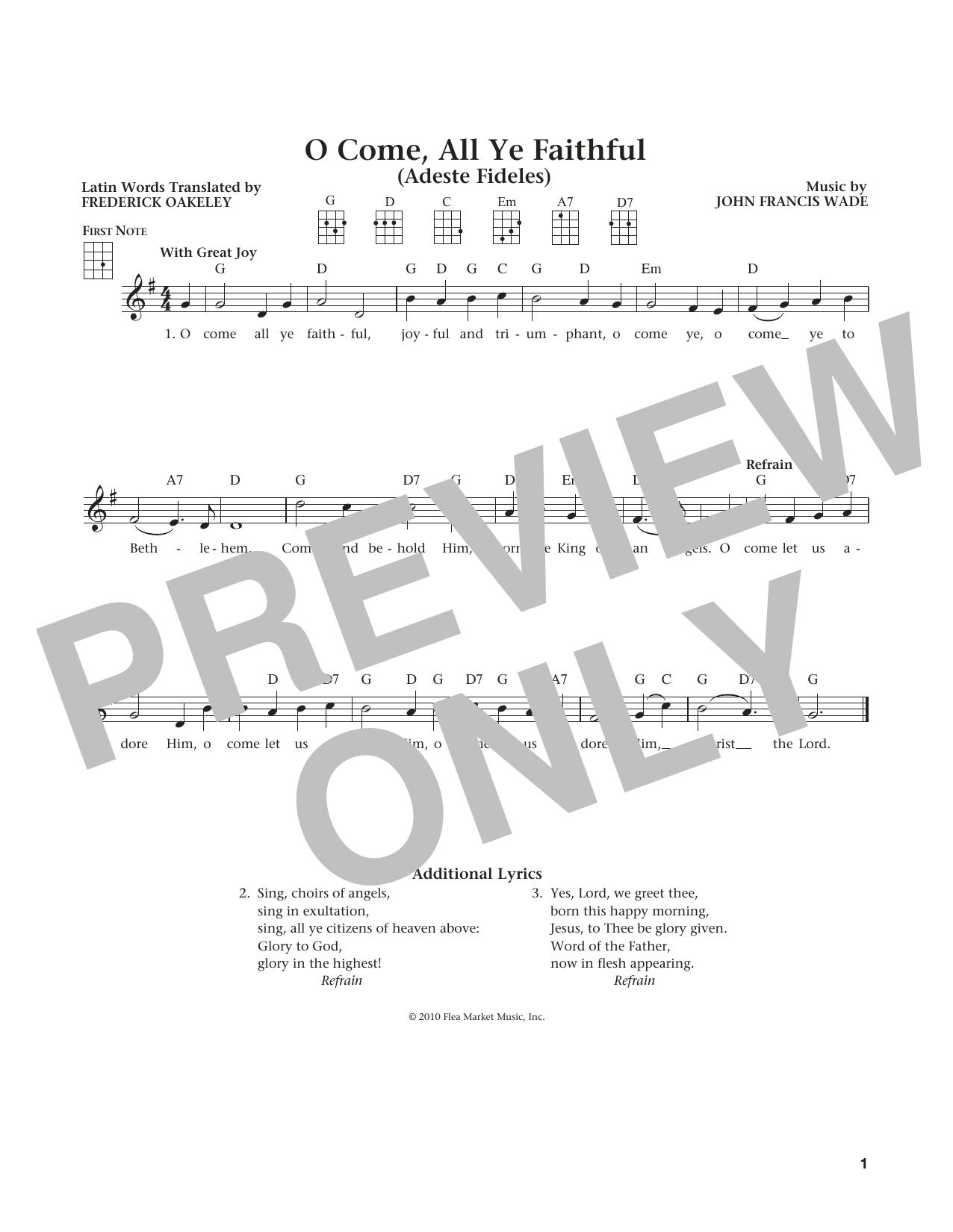 Sheet Music Digital Files To Print Licensed Frederick Oakeley