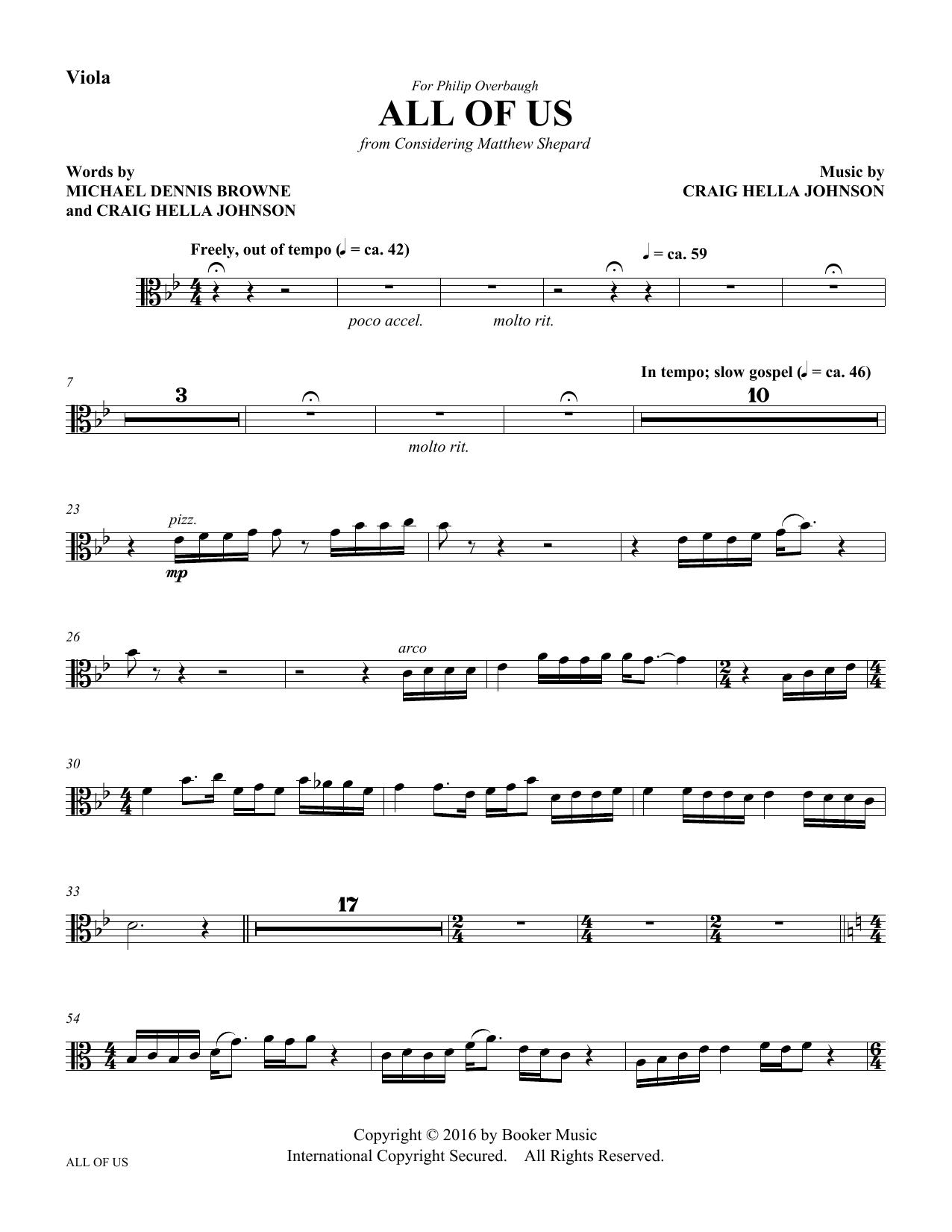All of Us - Viola