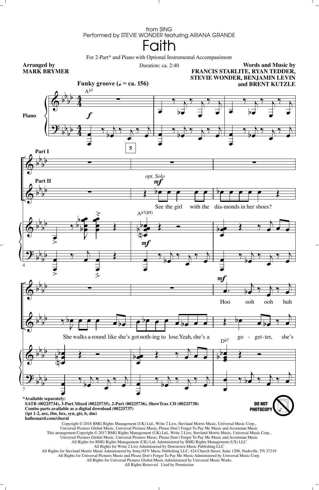 Stevie Wonder feat. Ariana Grande - Faith