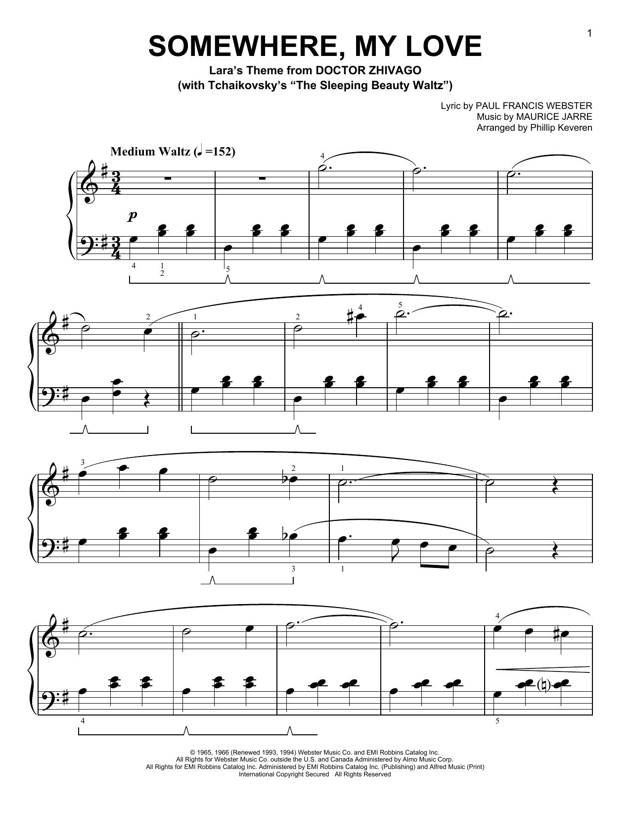 Sheet music digital files to print licensed paul francis webster somewhere my love stopboris Choice Image
