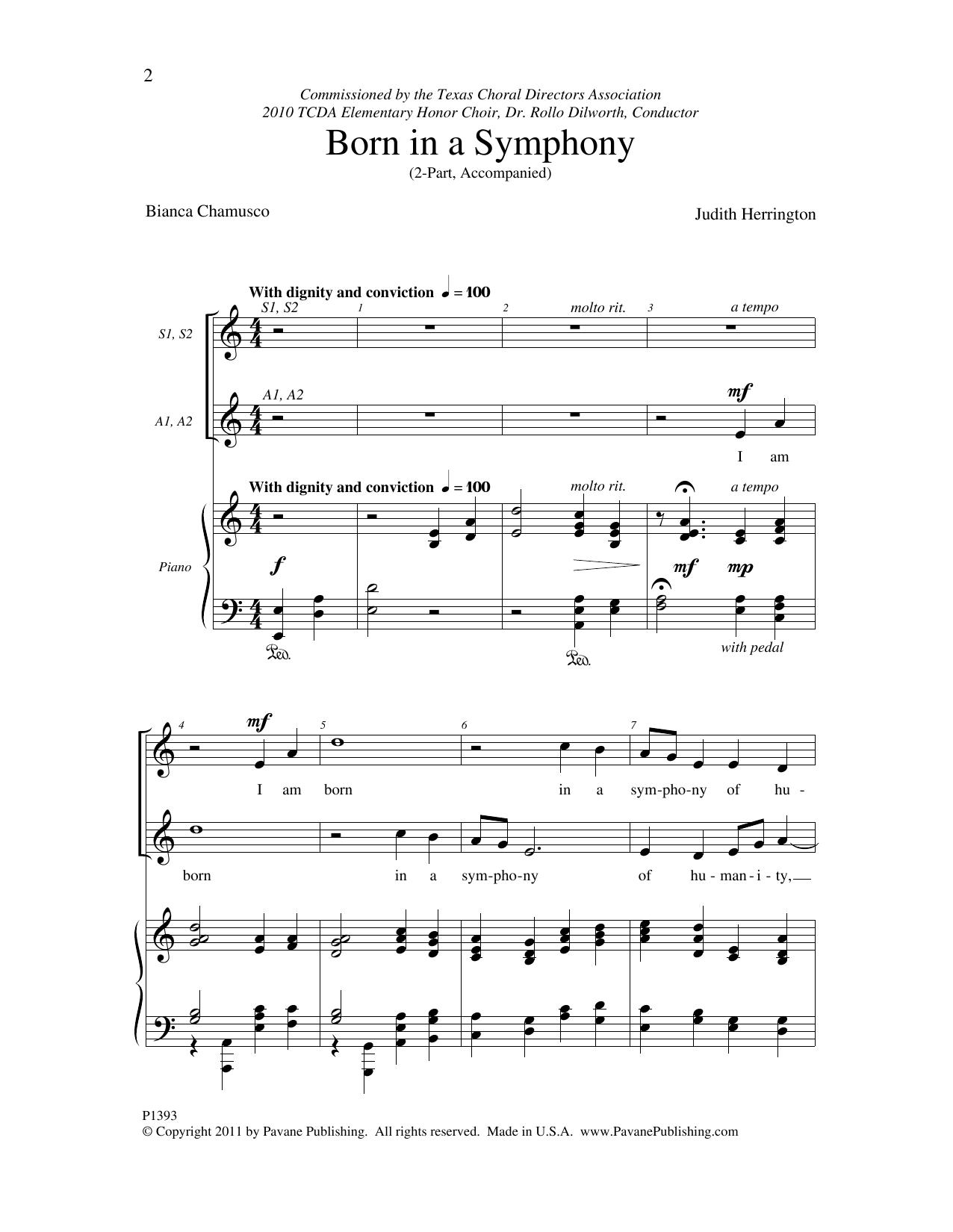 Born in a Symphony