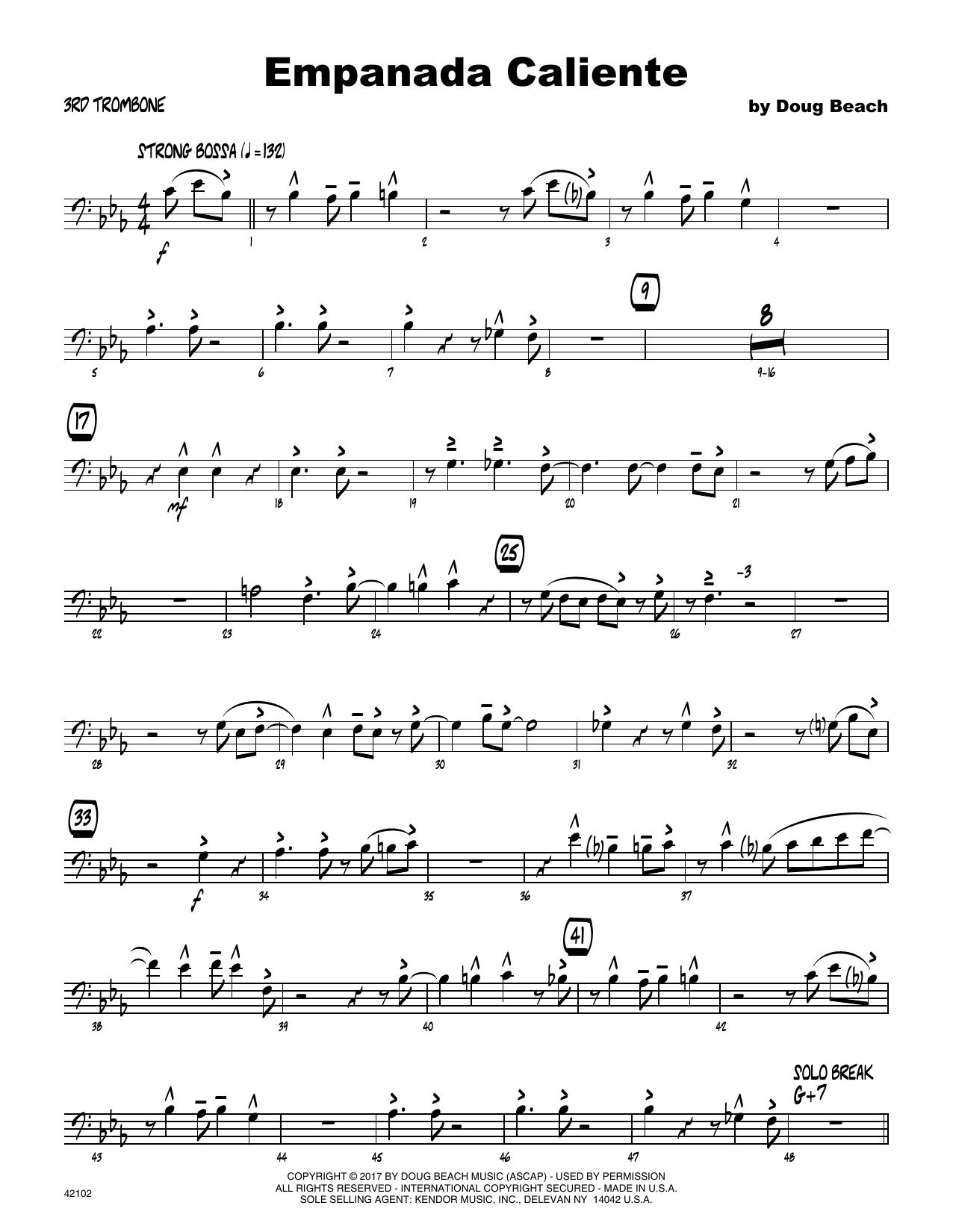 Empanada Caliente - 3rd Trombone
