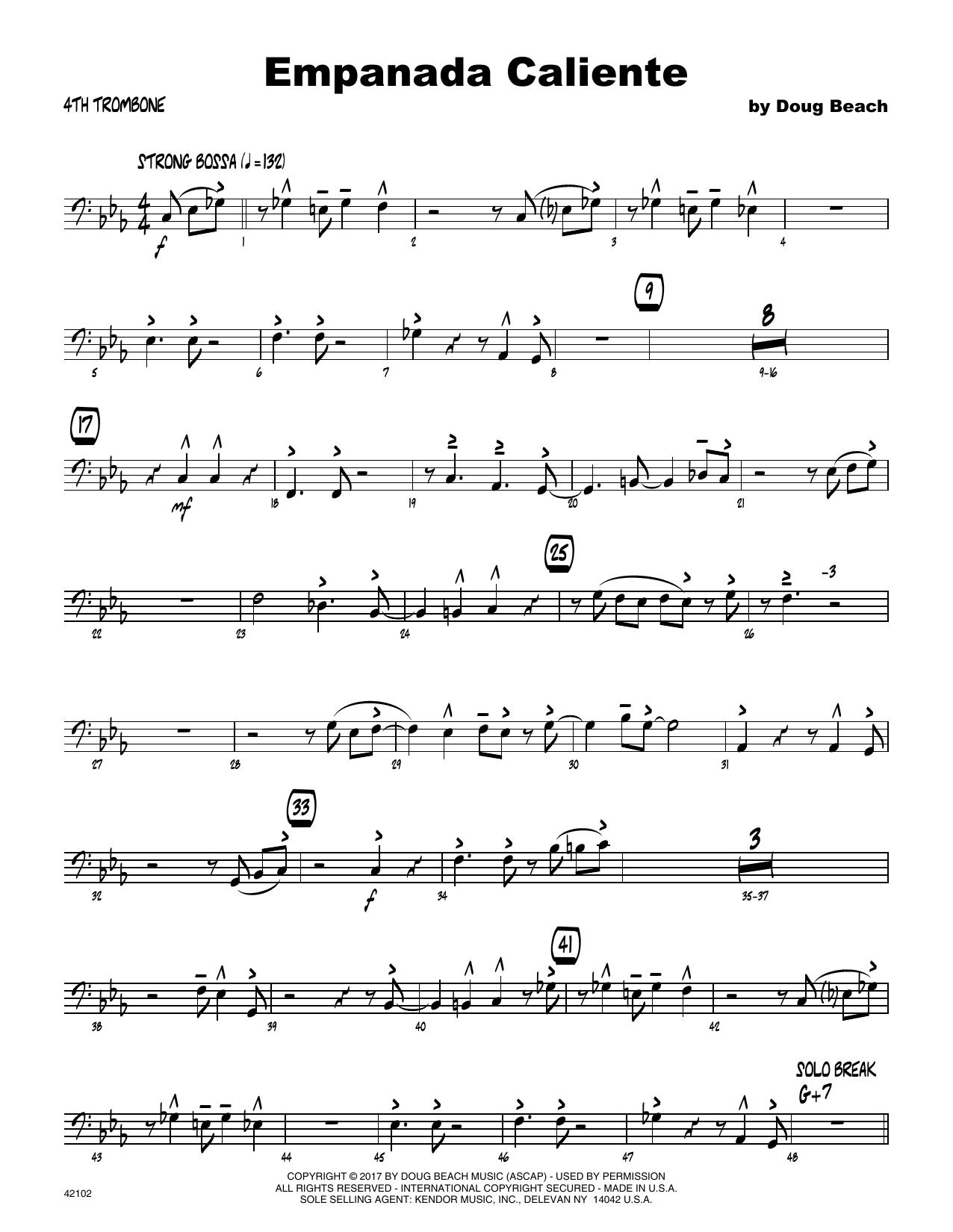 Empanada Caliente - 4th Trombone