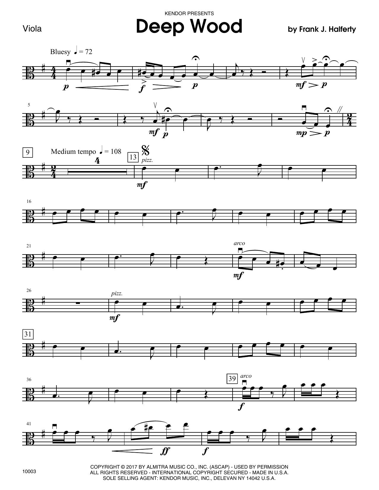 Deep Wood - Viola