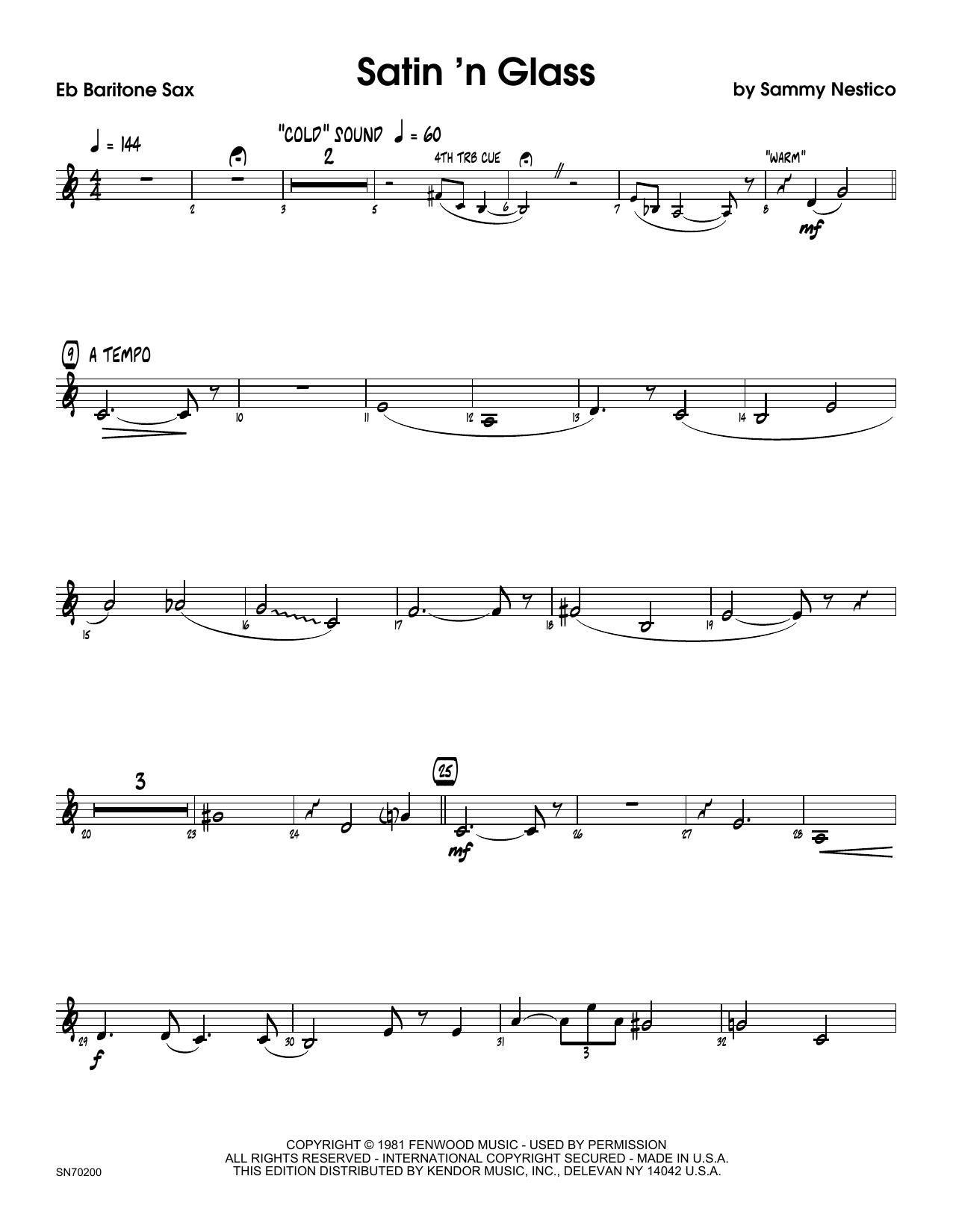 Satin 'n Glass - Eb Baritone Saxophone