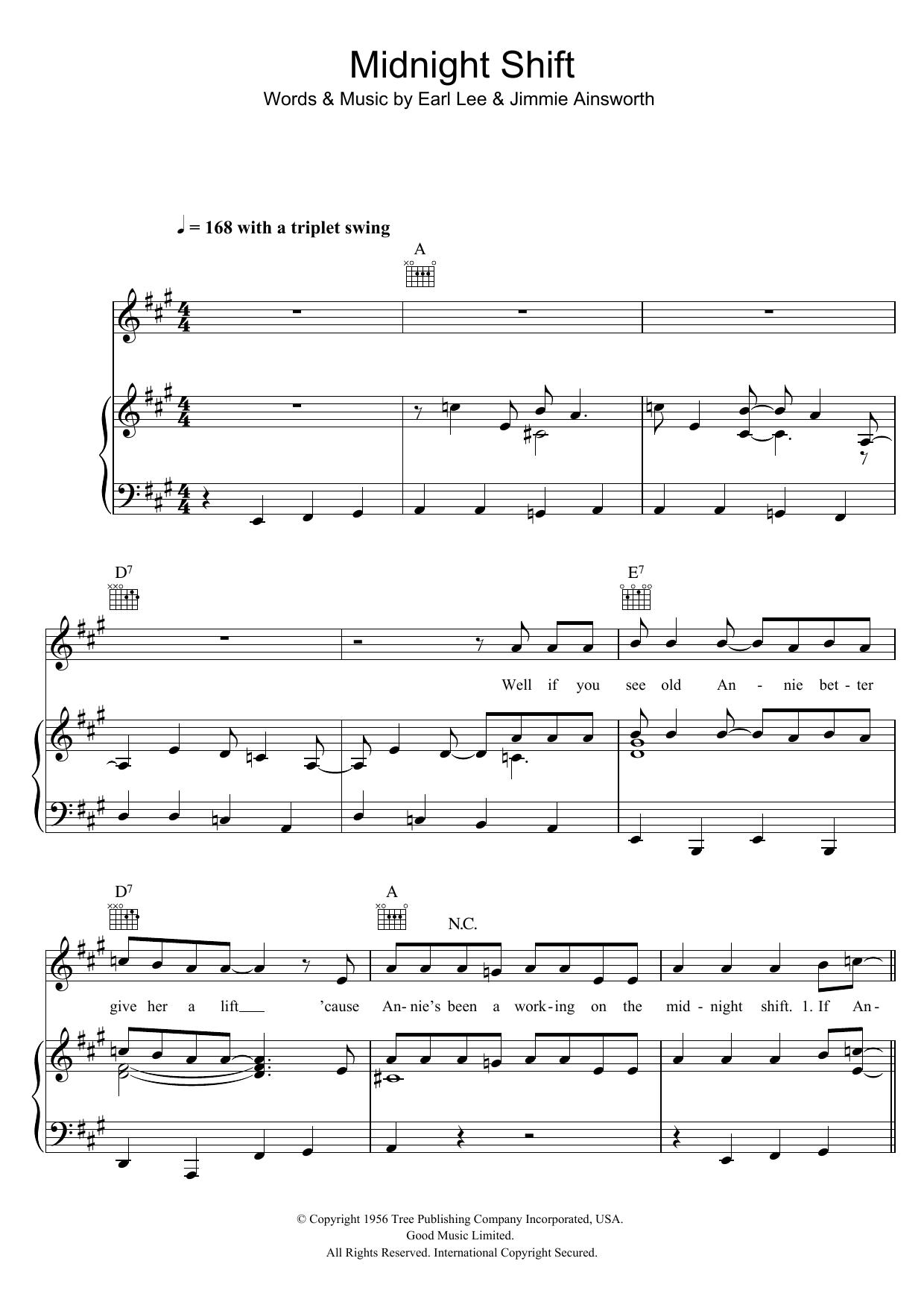 Buddy Holly - Midnight Shift