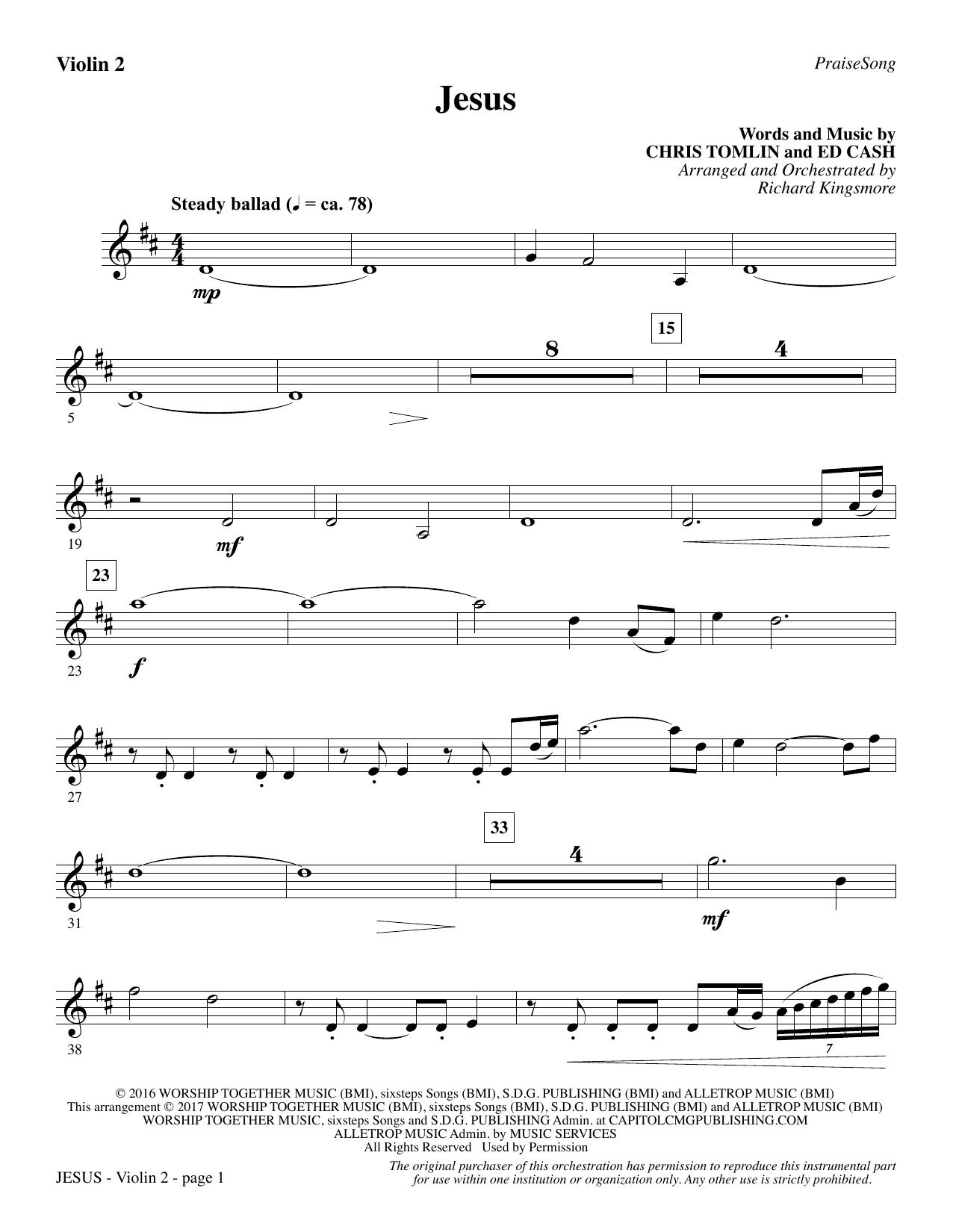 Jesus - Violin 2