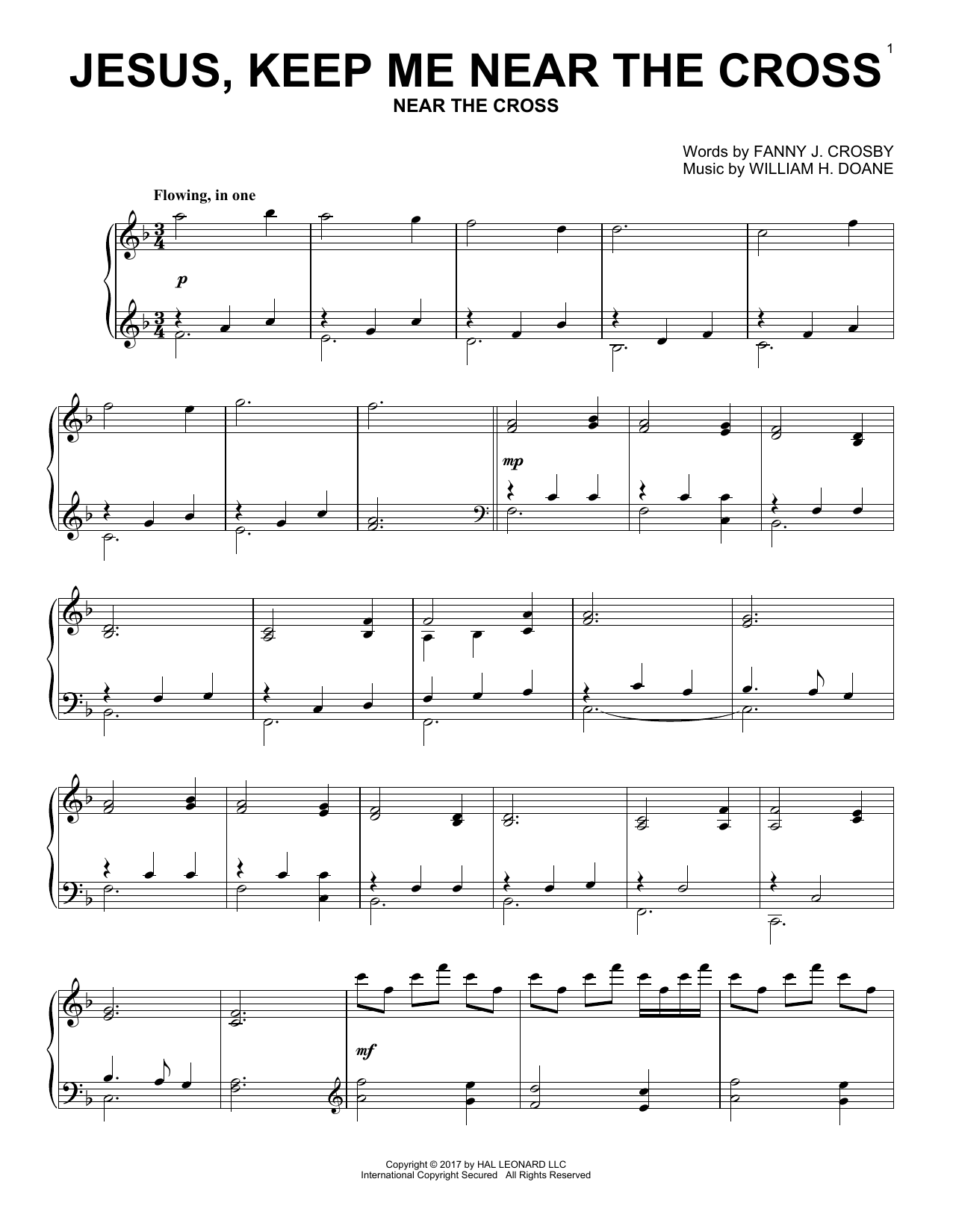 Sheet Music Digital Files To Print Licensed Fanny J Crosby