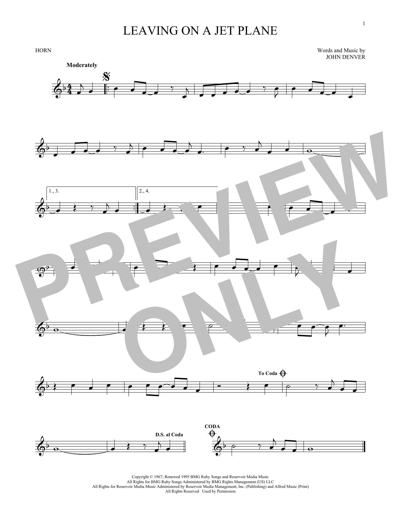 Sheet Music Digital Files To Print Licensed John Denver Digital