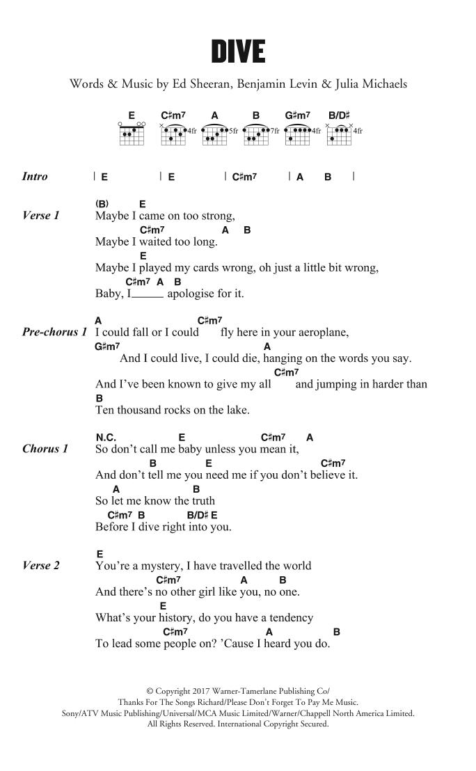 Guitar Chord Sheet Music At Stantons Sheet Music