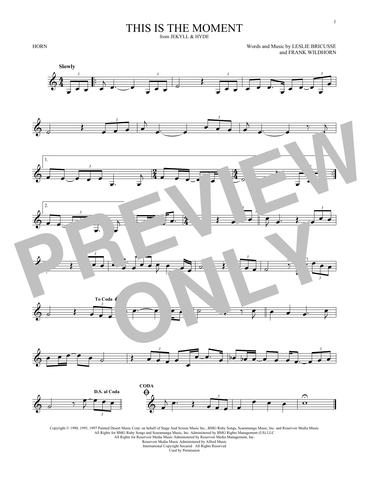 French Horn at Stanton\'s Sheet Music