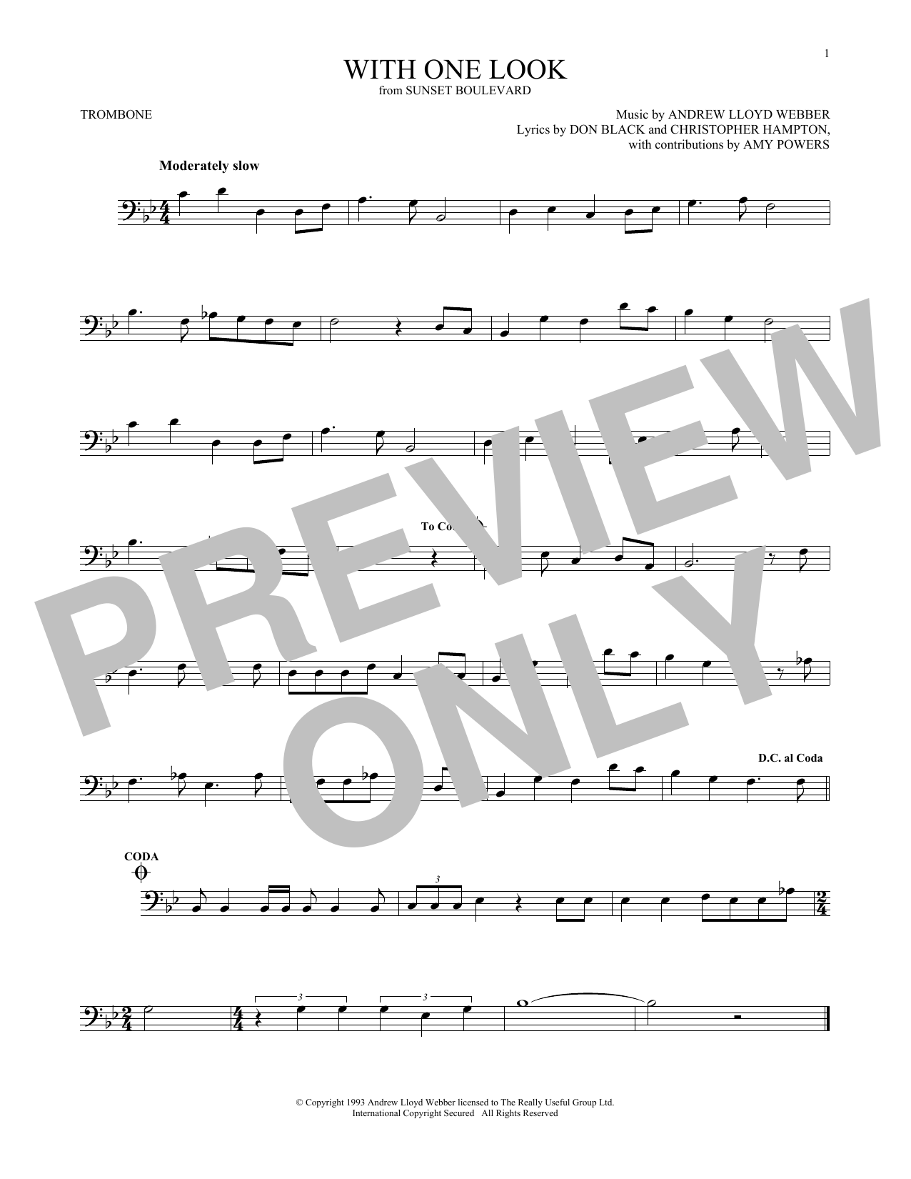 Trombone Keith Whitley Sheet Music At Stantons Sheet Music