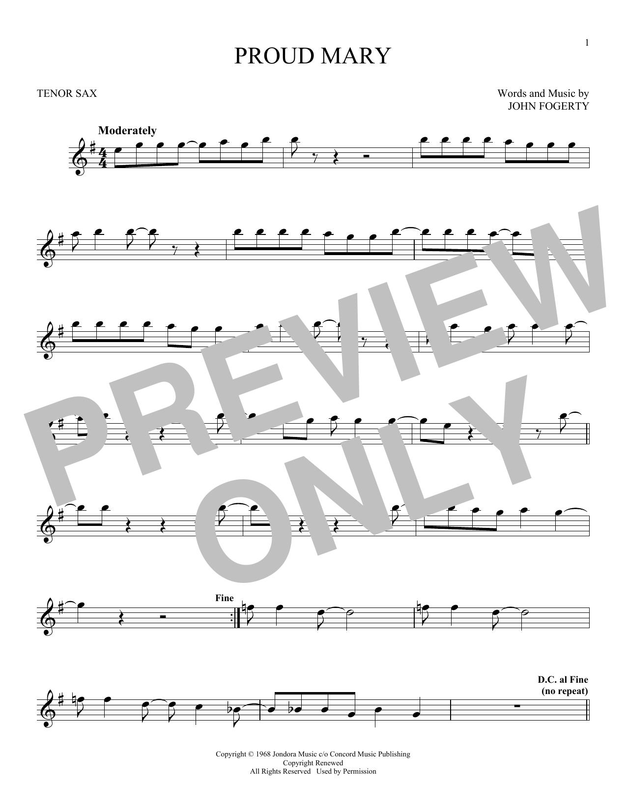 Sheet Music Digital Files To Print Licensed John Fogerty Digital
