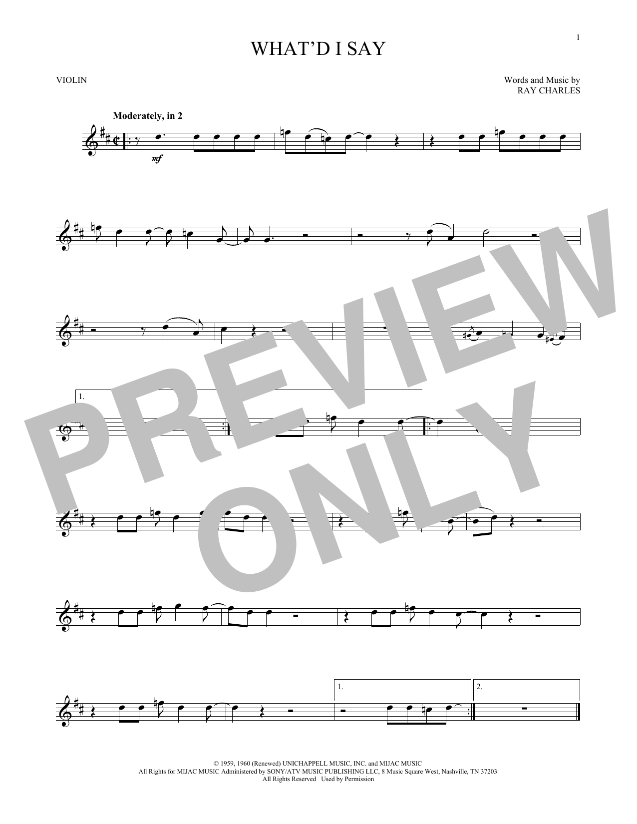 Annie lennox a whiter shade of pale sheet music at stantons ray charles hexwebz Choice Image